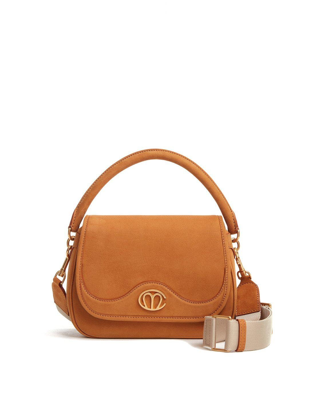 Christy Small Leather Top Handle Bag