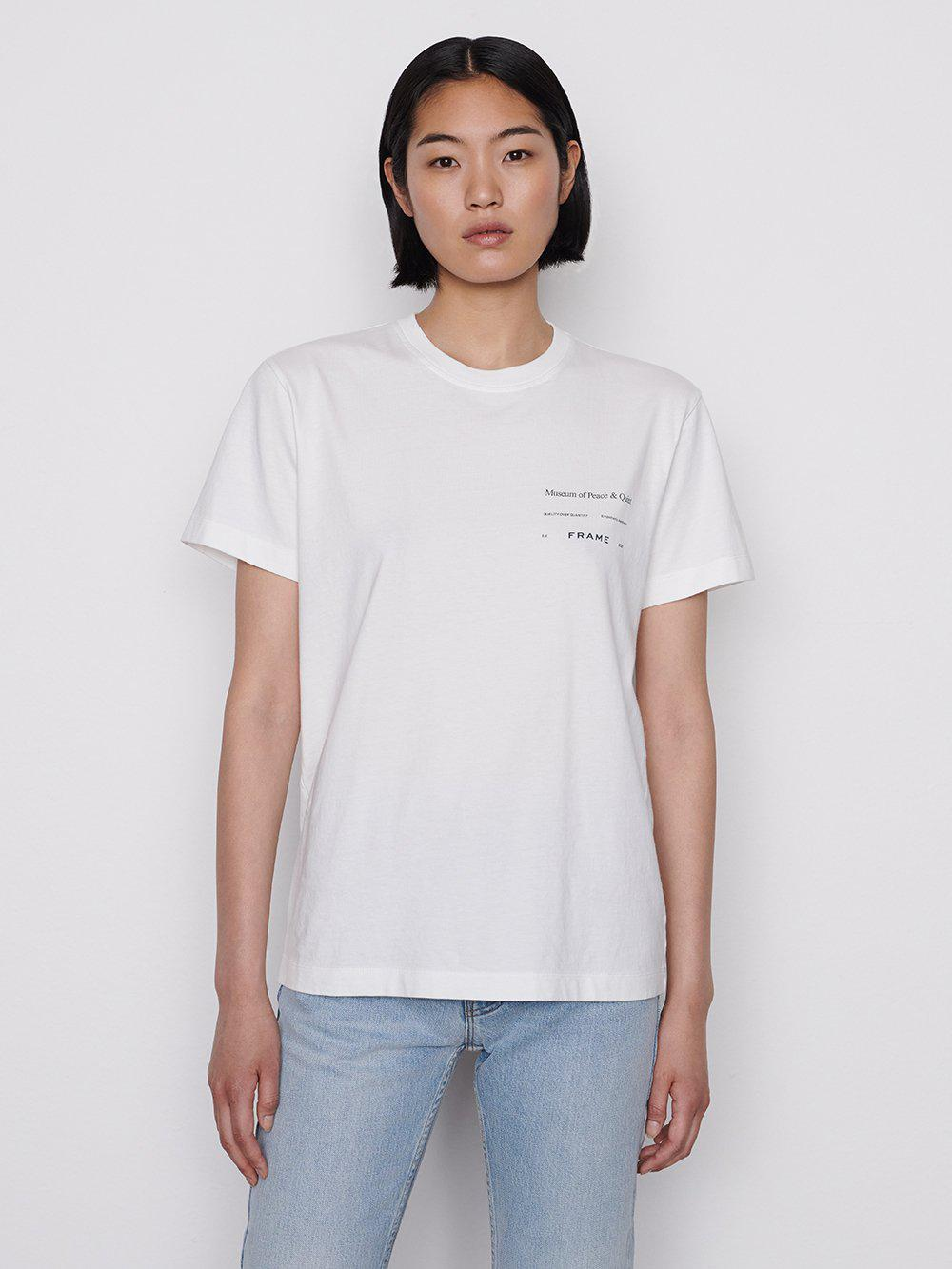 Museum of Peace and Quiet T-Shirt -- Blanc