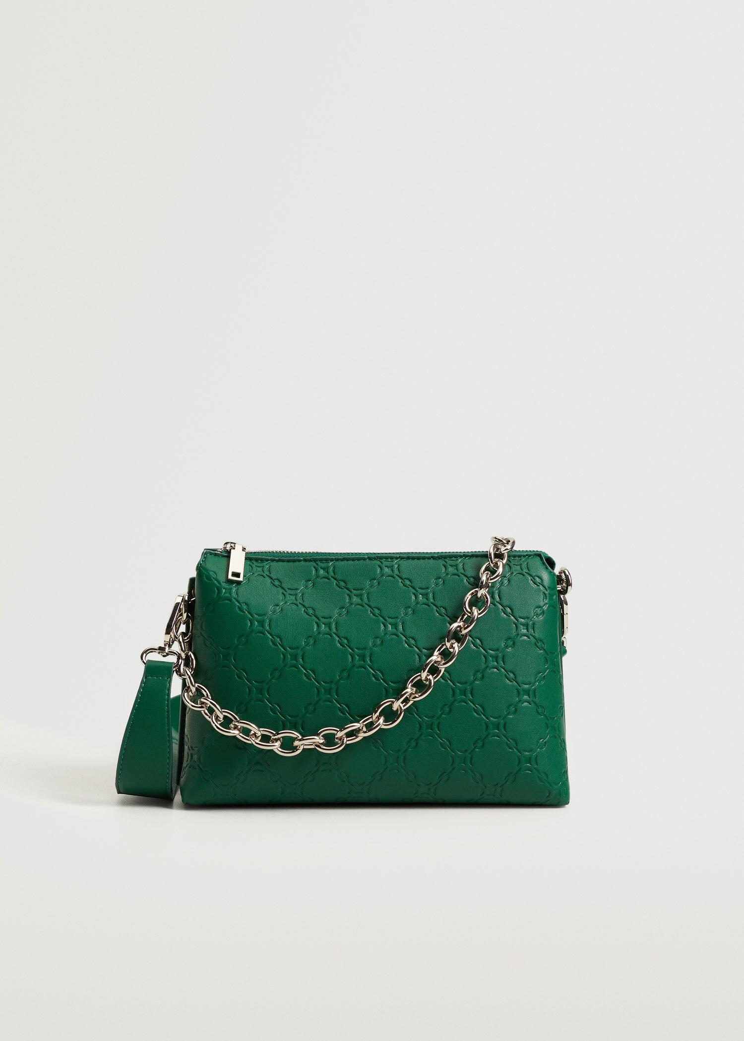 Chains engraved bag