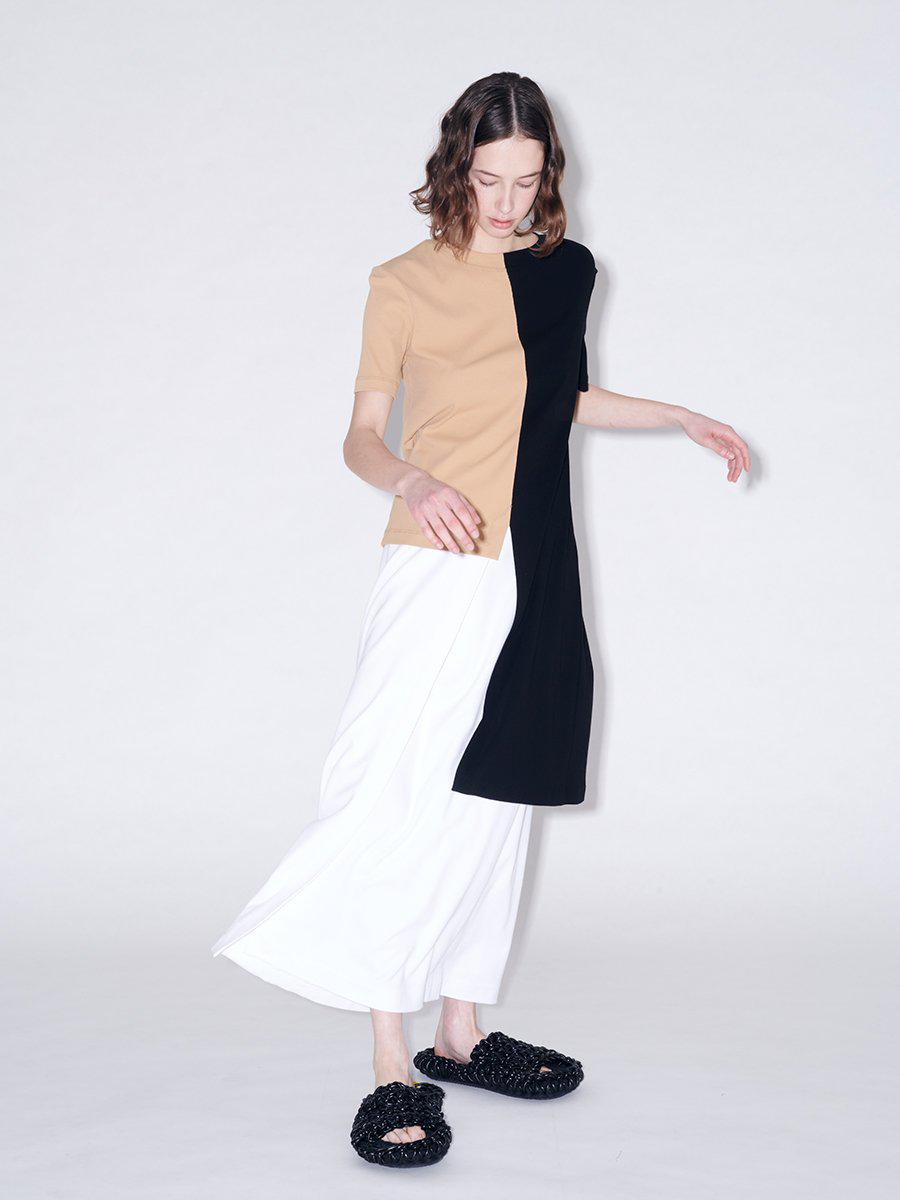 Pull On Wrap Front Skirt 0