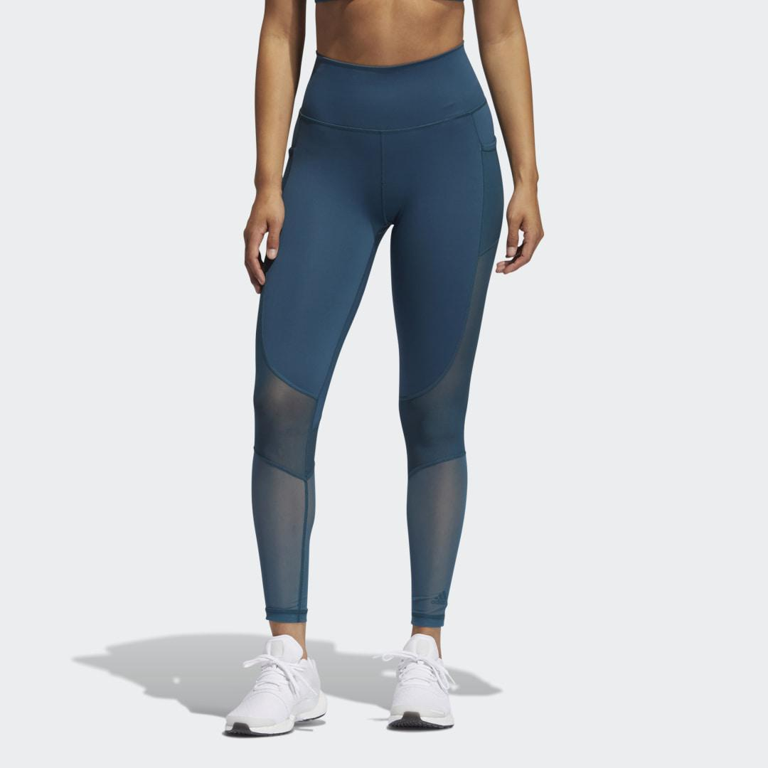 Believe This Summer Seven-Eighth Tights Wild Teal
