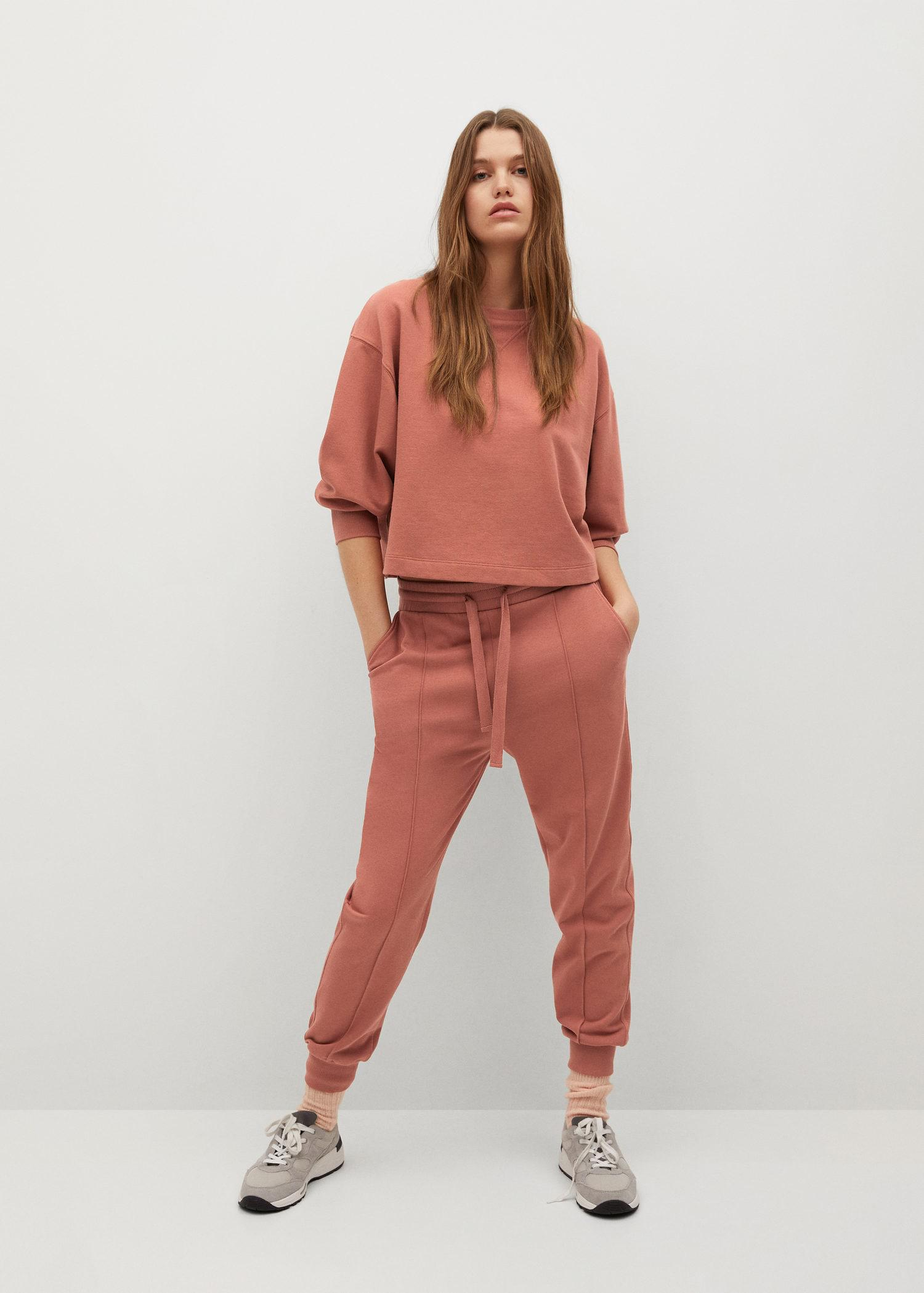 Sustainable cotton jogger pants 1