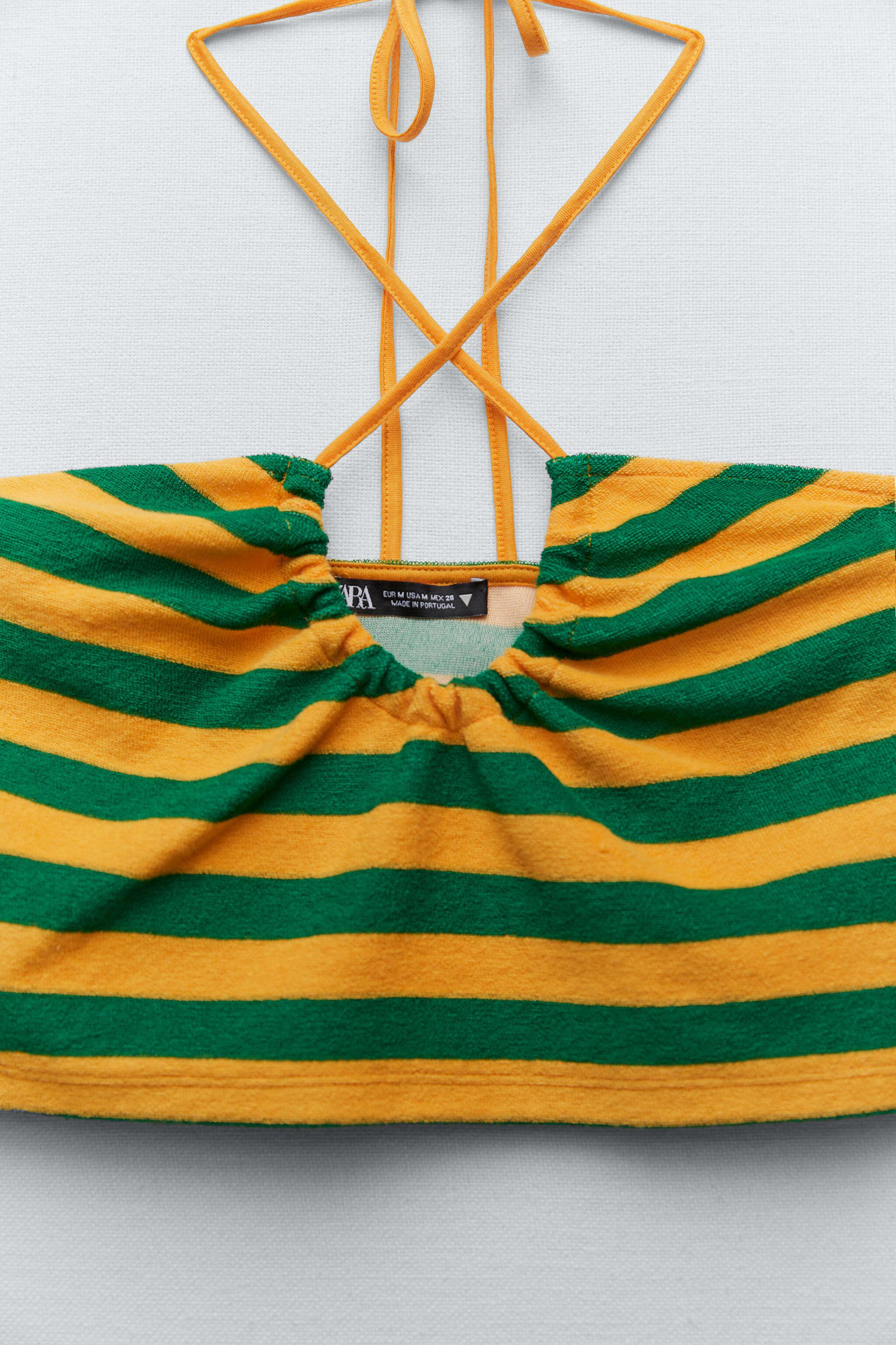 TERRYCLOTH STRIPED TOP 8