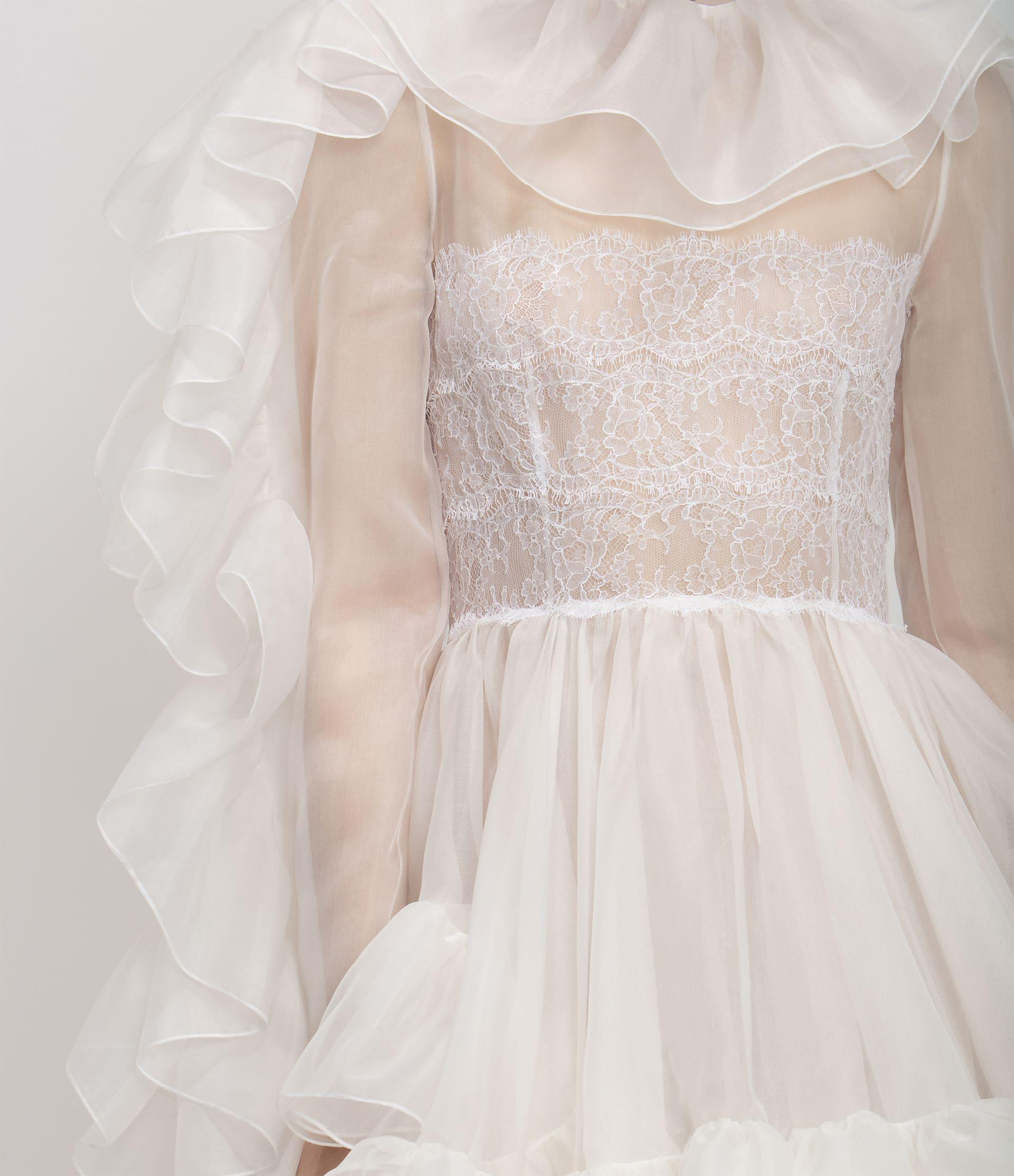 Christopher Kane Bridal: The Organza Frill Gown 3