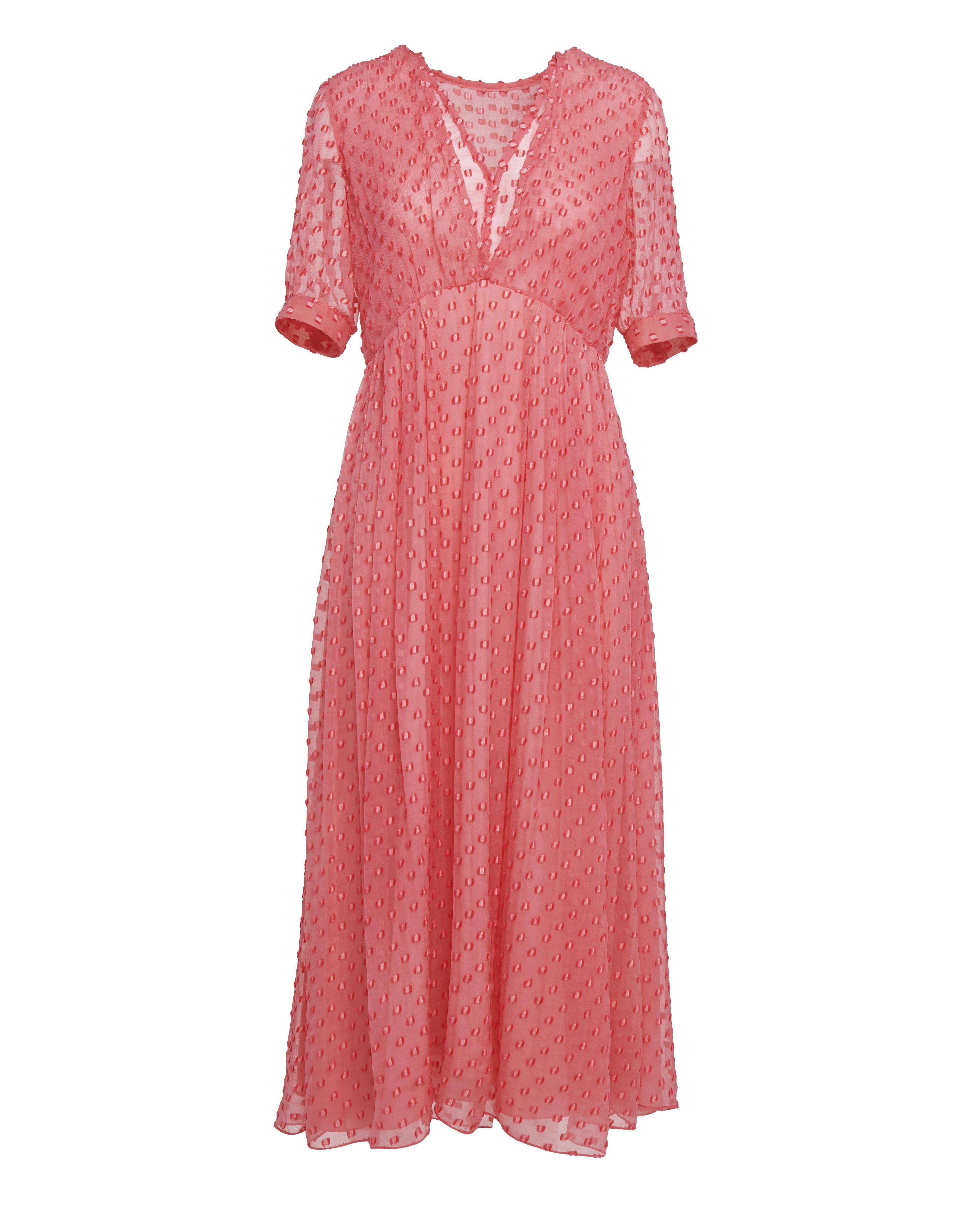 The Ivy Dress   Coral 5