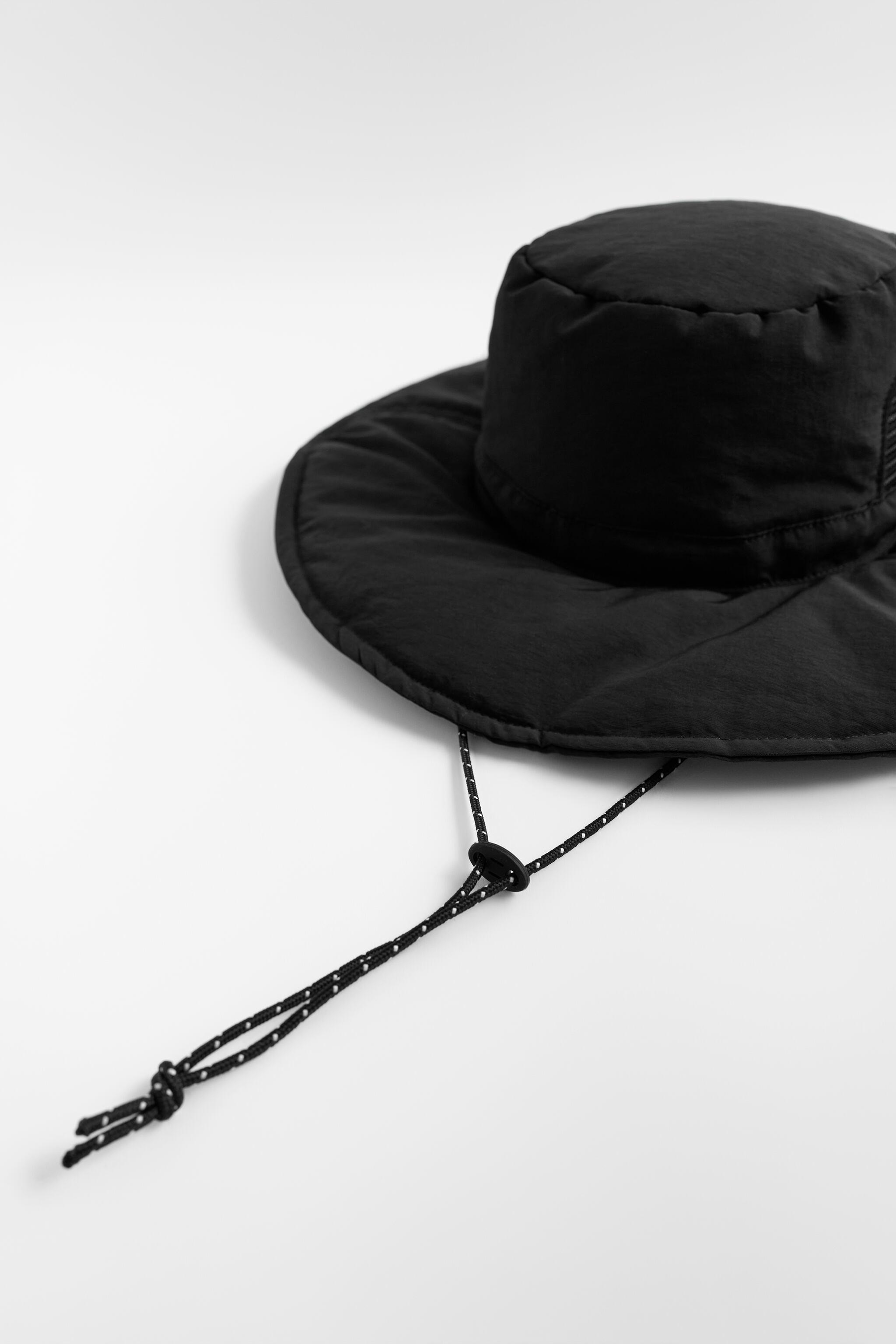 QUILTED BUCKET HAT 4