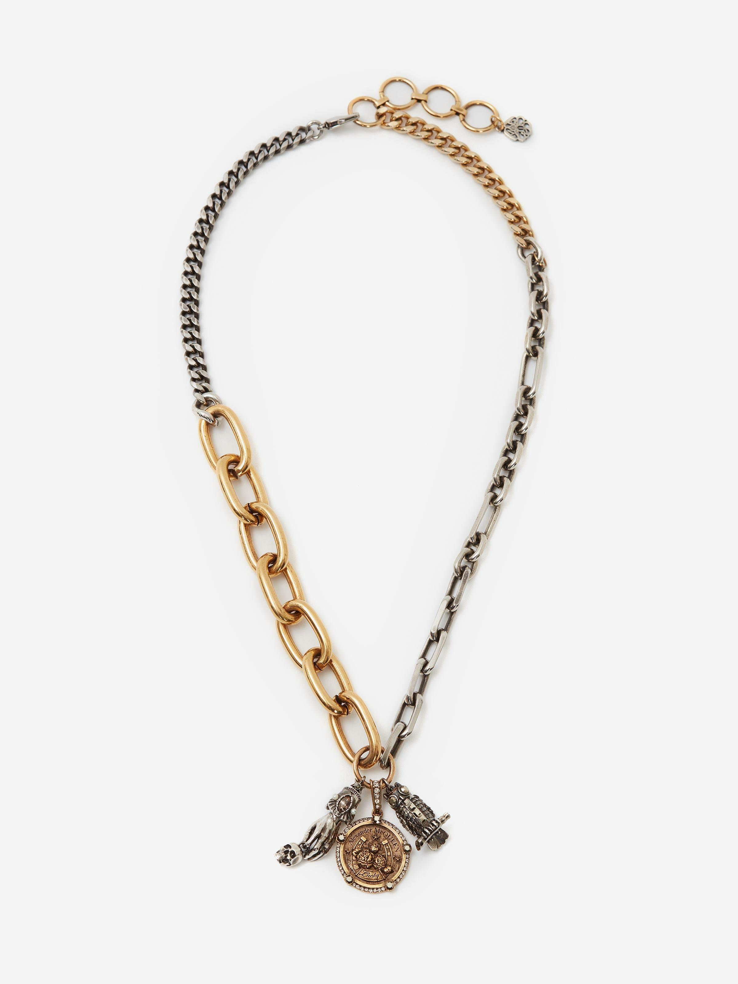 Charms Long Chain Necklace