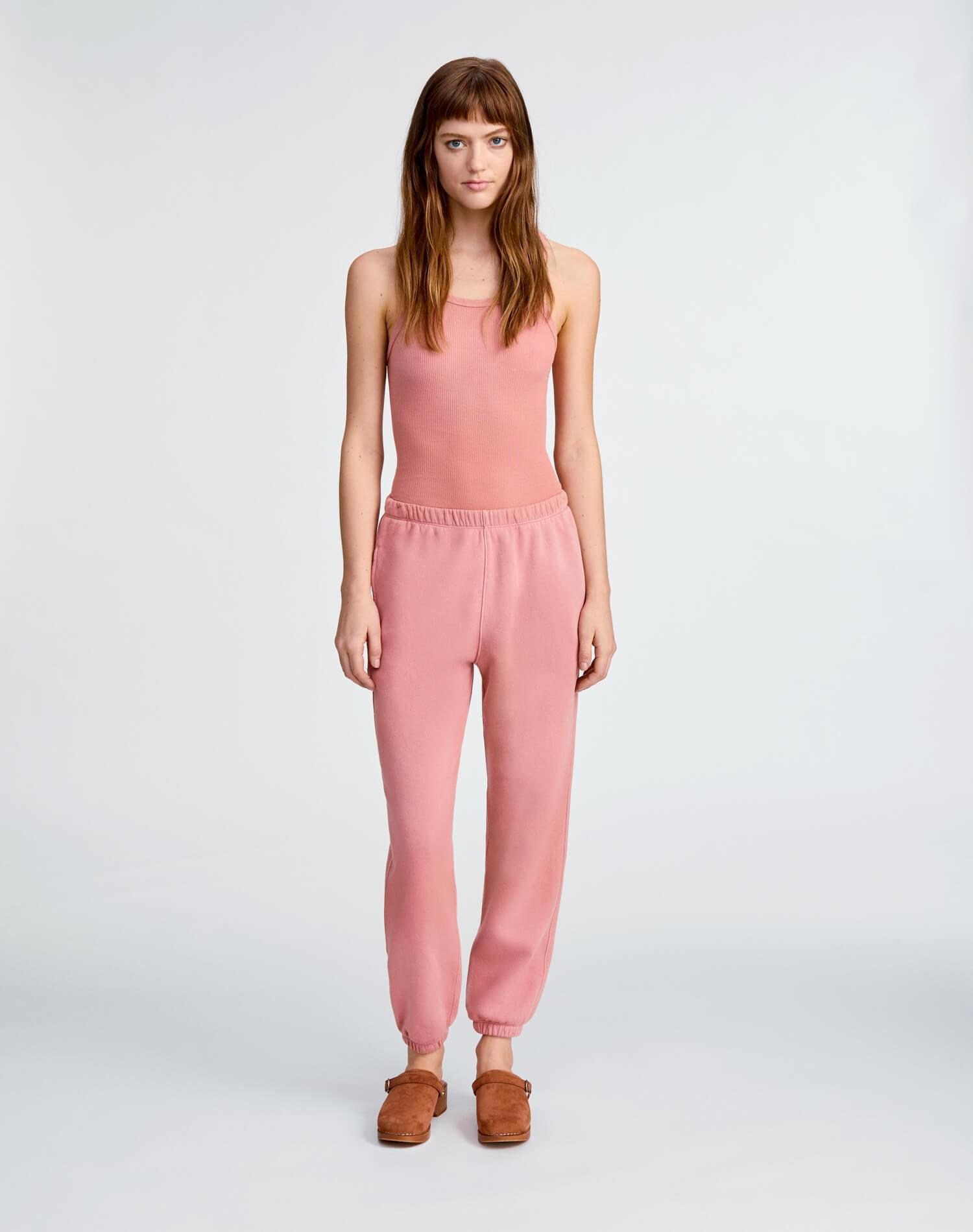 80s Sweatpant - Faded Clay 1