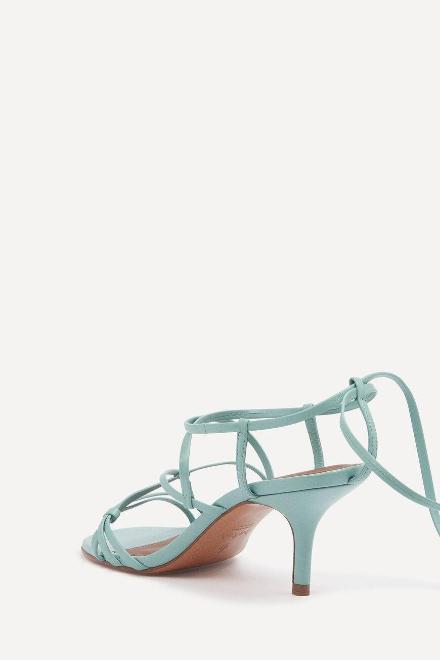celly.LACE UP SANDALS 2