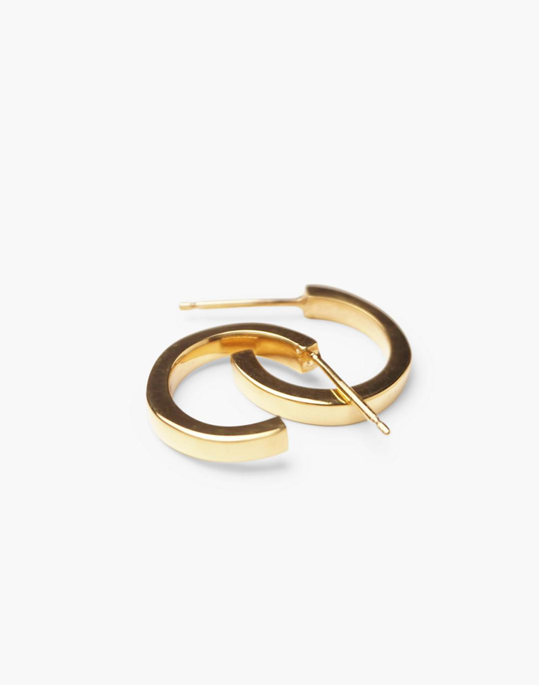 Charlotte Cauwe Studio Perfect Hoops in Gold