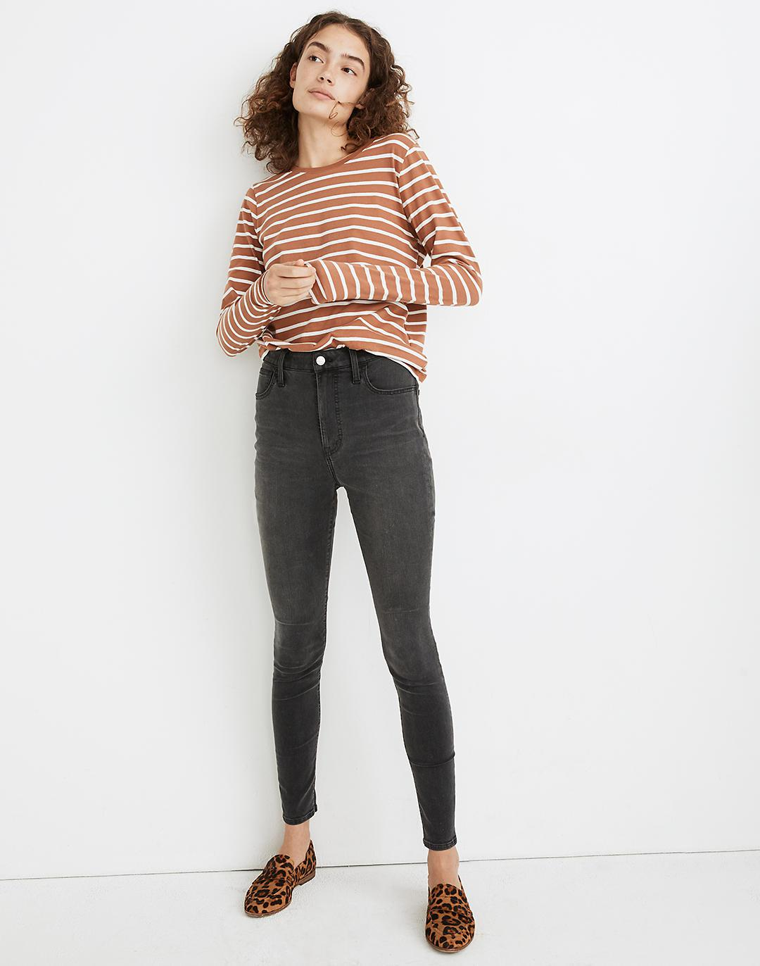 """9"""" Mid-Rise Roadtripper Supersoft Jeans in Ashmont Wash"""