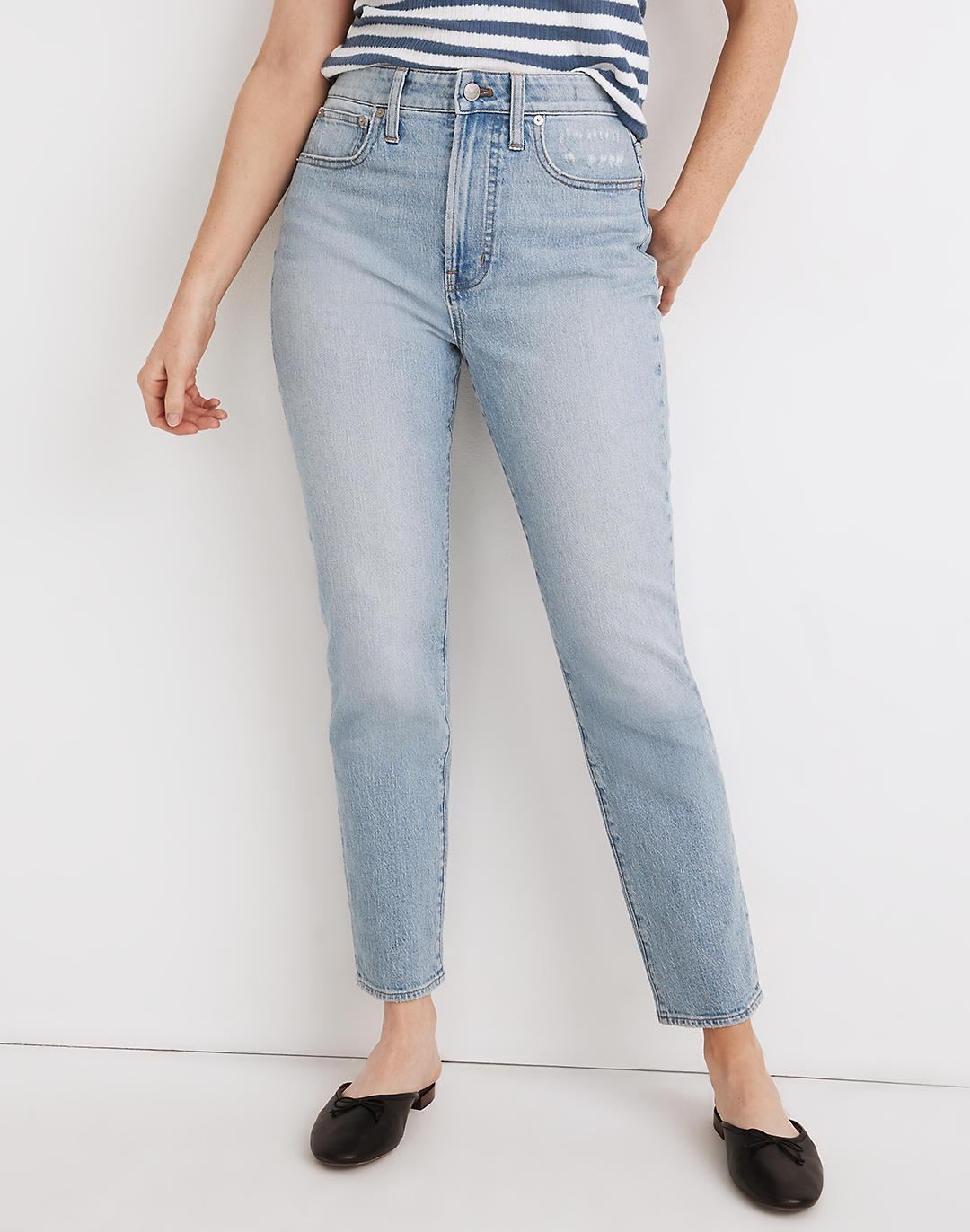 The Curvy Perfect Vintage Jean in Fiore Wash 3