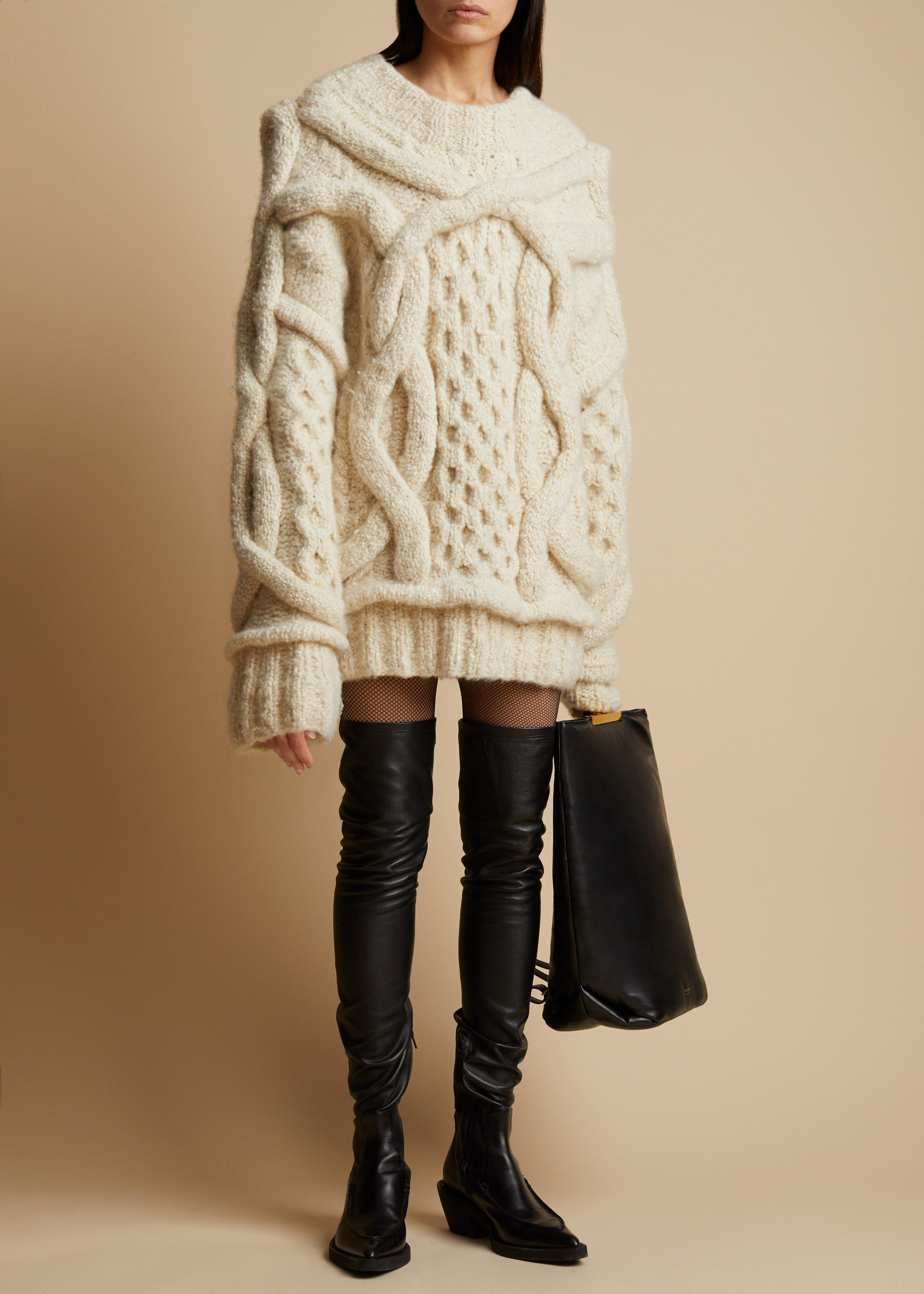 The Monet Sweater in Ivory
