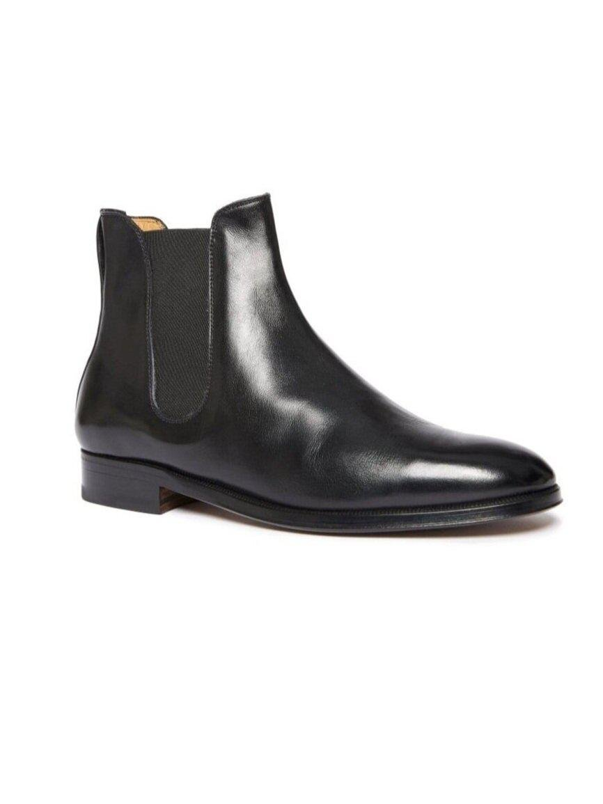 ODPEssentials Classic Chelsea Boot - Black Leather