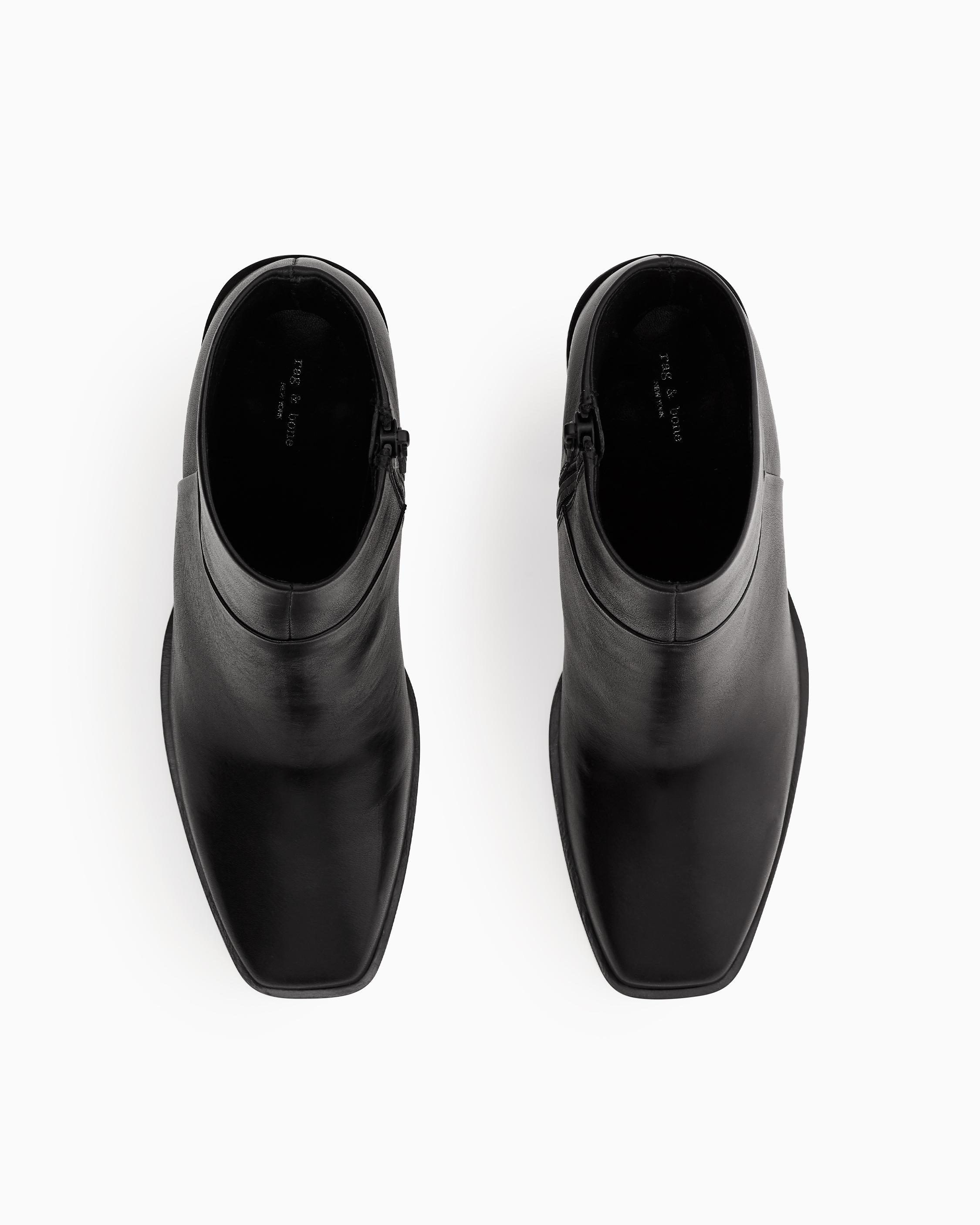 Axel zip up boot - leather 2