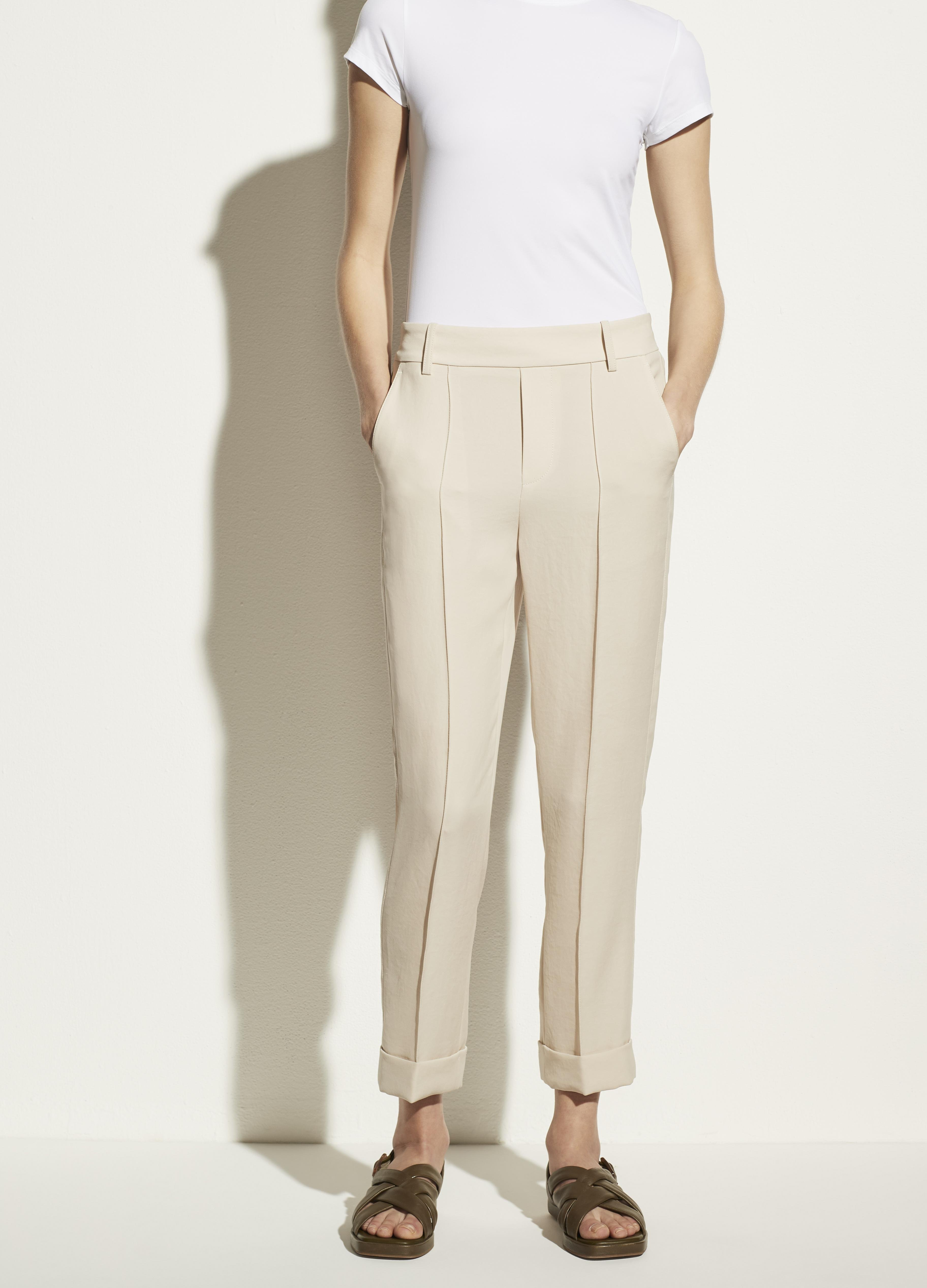 Cuffed Tapered Pull On Pant 1