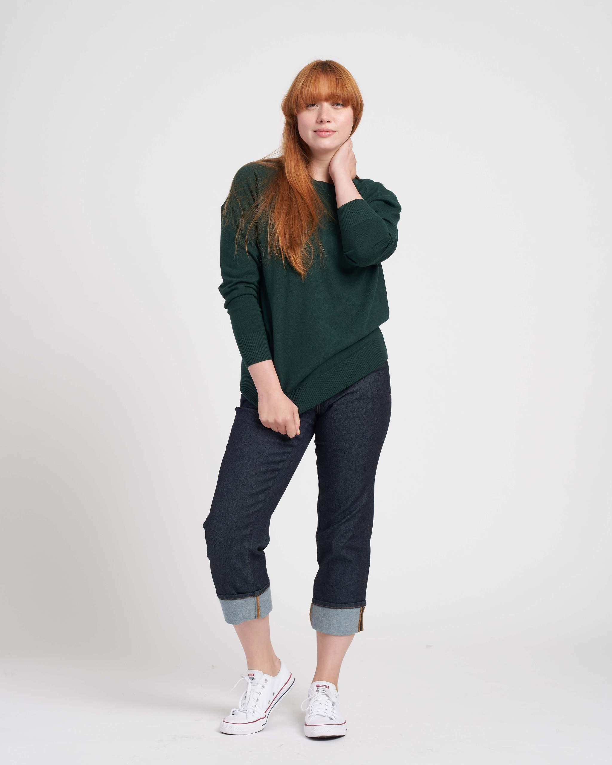 Eco Relaxed Core Sweater 3