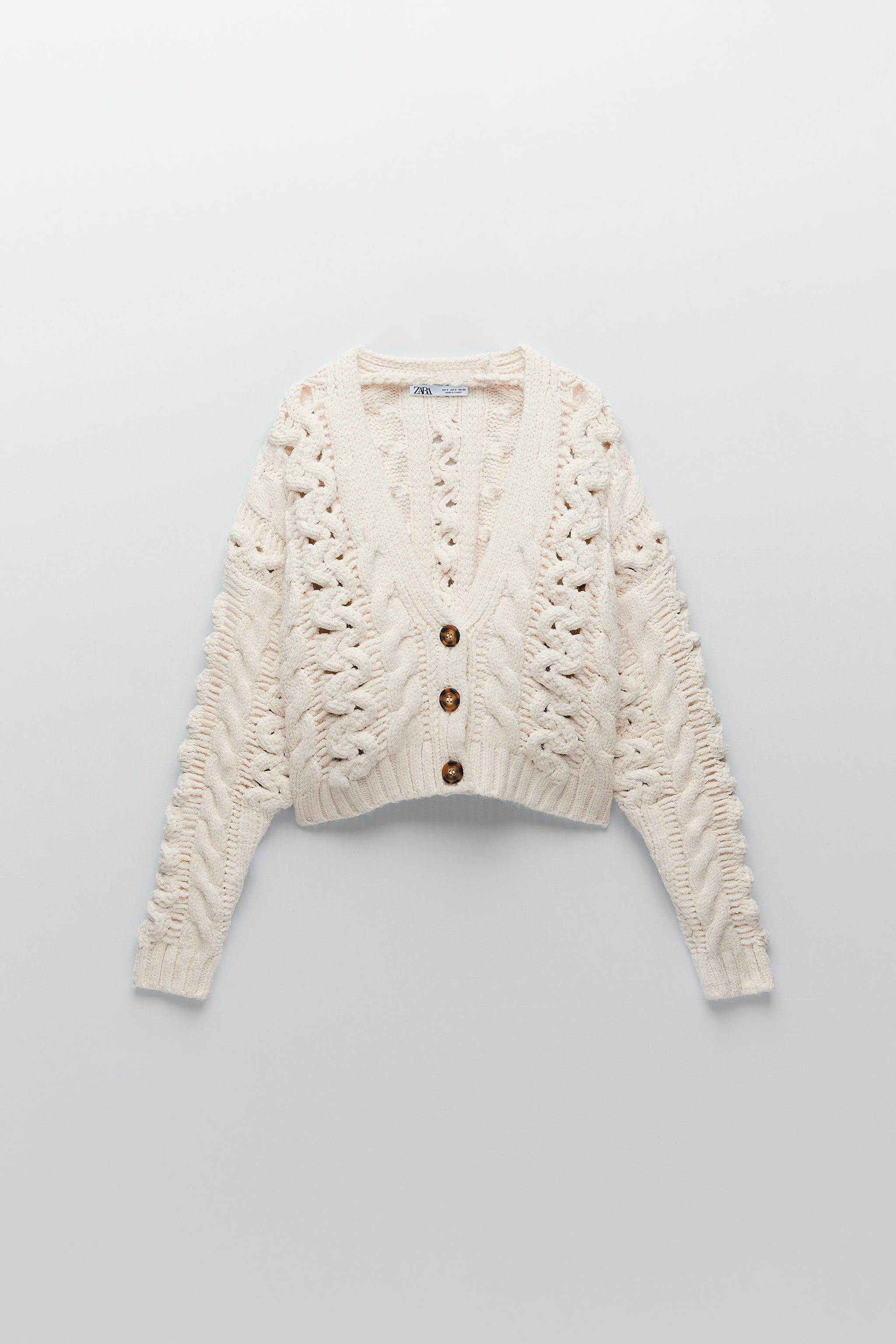 CABLE KNIT CARDIGAN 3