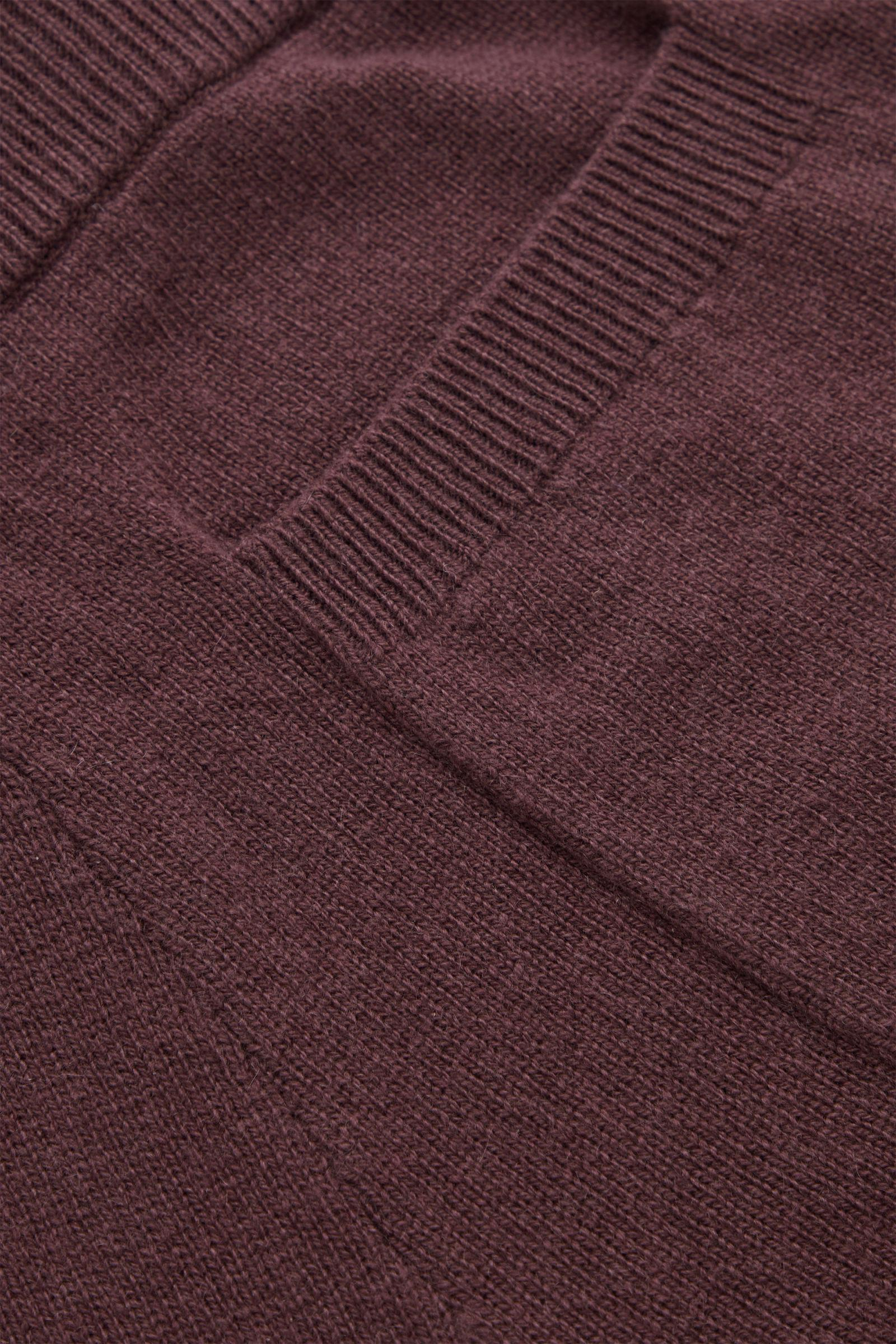 RECYCLED CASHMERE WIDE-LEG PANTS 6