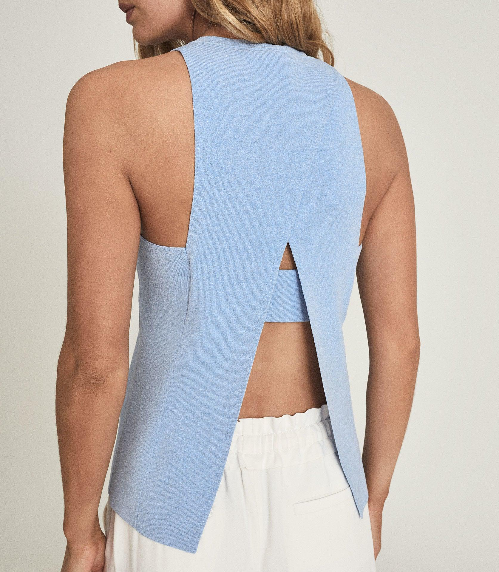 HEIDI - KNITTED OPEN BACK TOP 3