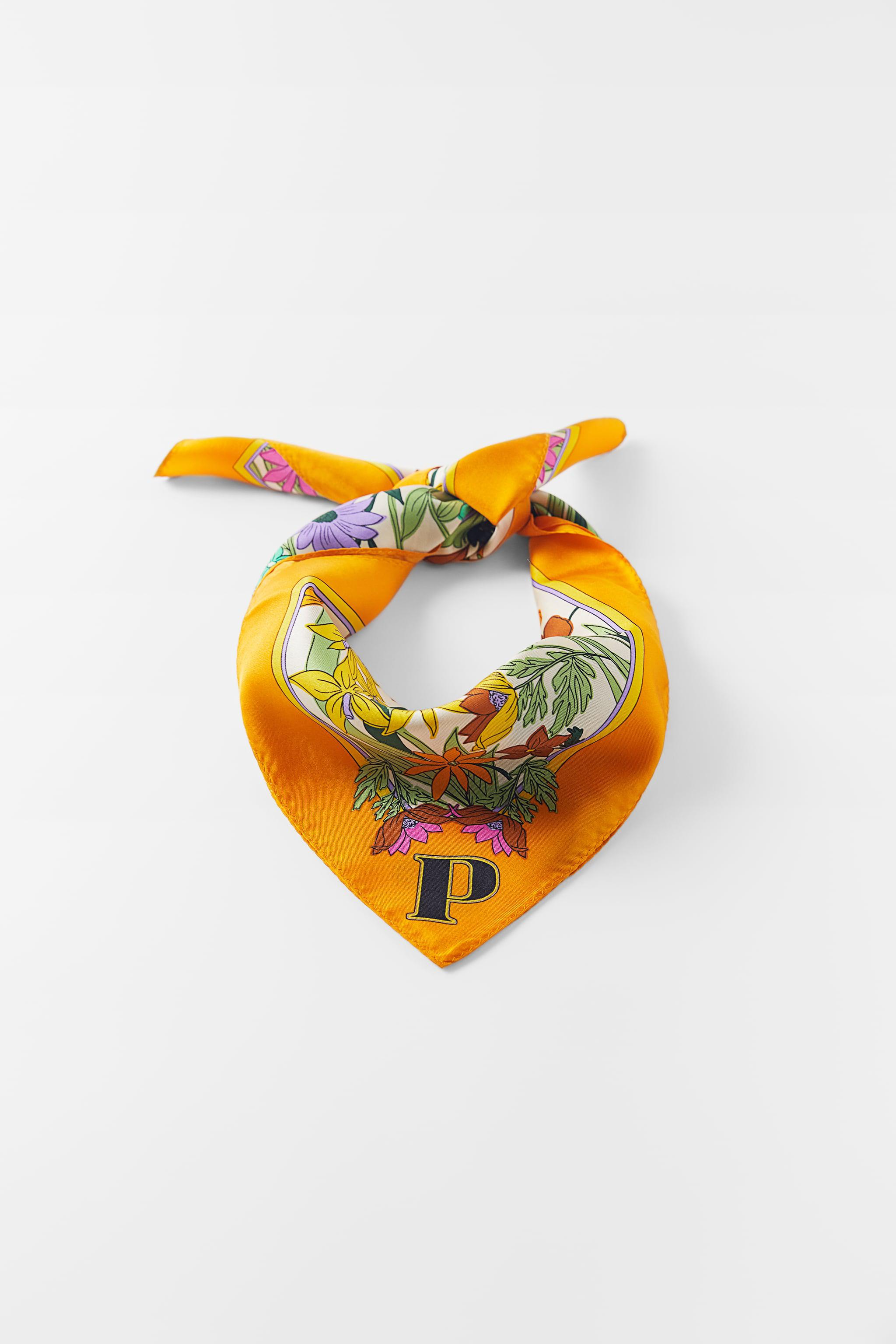INITIAL SILK SCARF SPECIAL EDITION 5