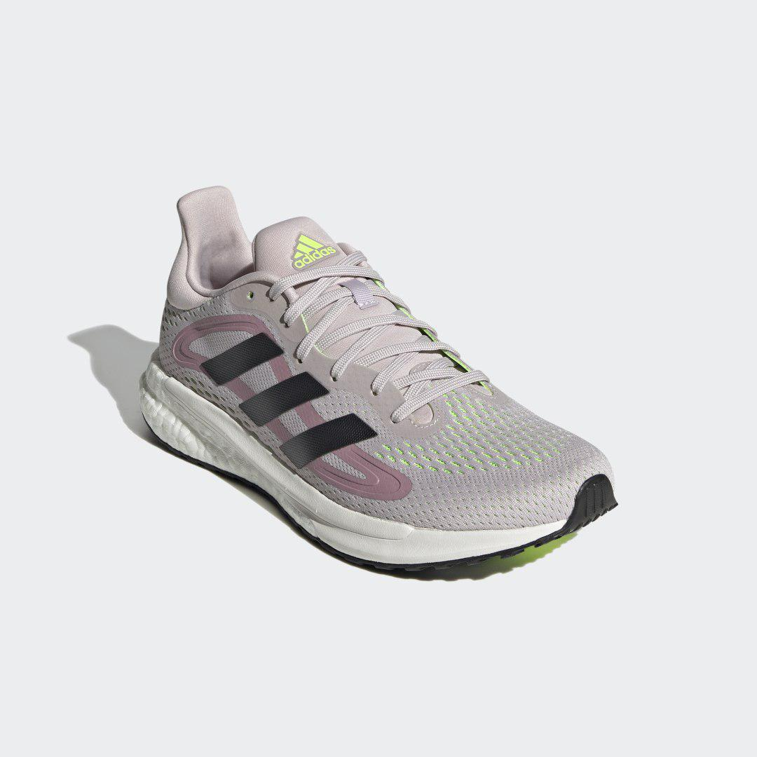 SolarGlide 4 Shoes Ice Purple