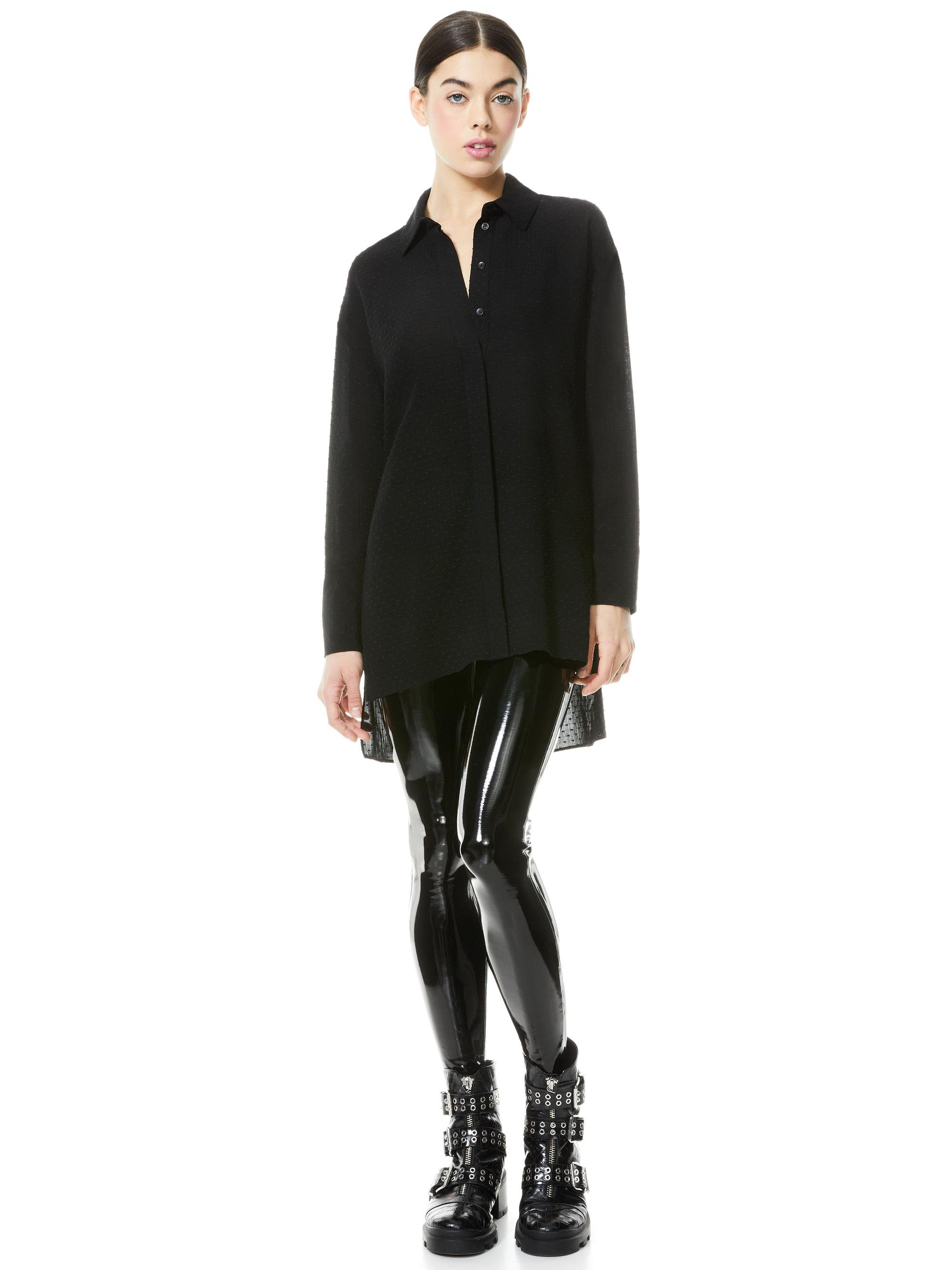 DIMITRA HIGH LOW BUTTON DOWN 3