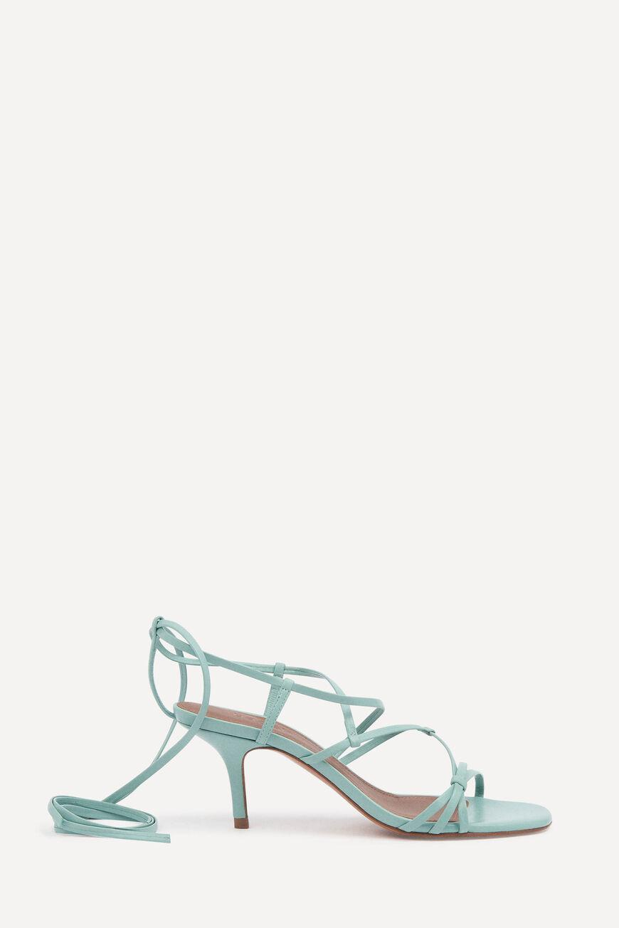 celly.LACE UP SANDALS
