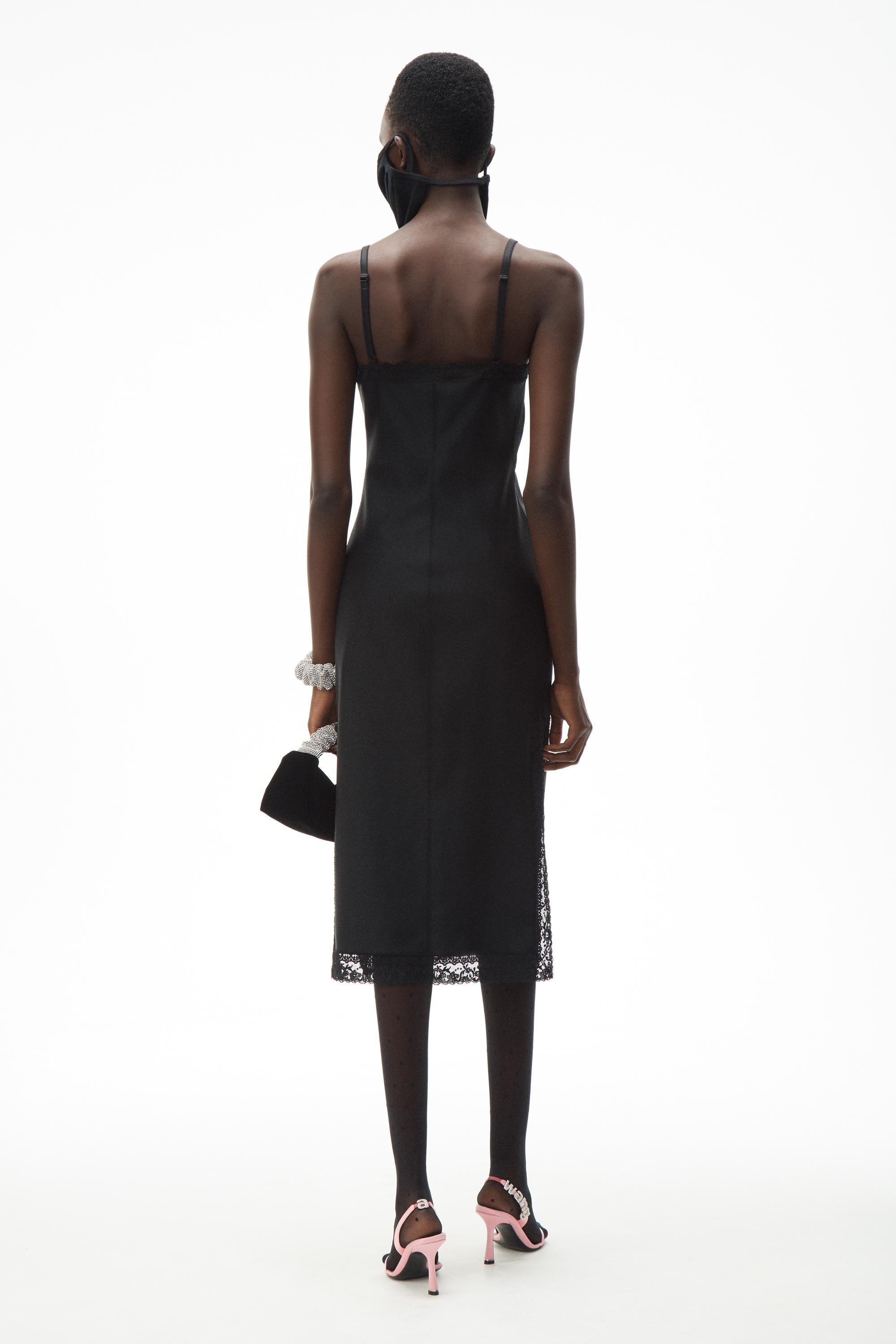 fitted slip dress 3
