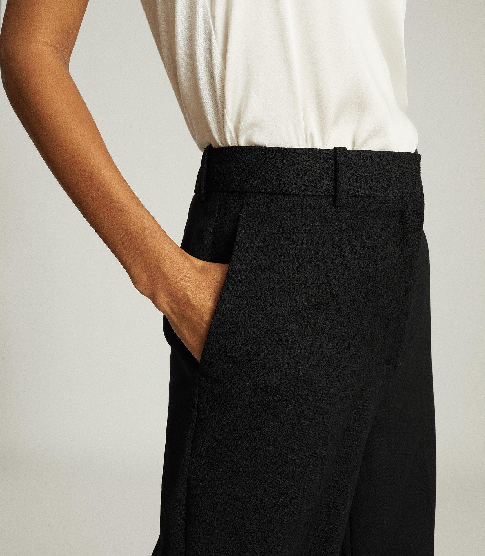 HAYES - WIDE LEG TAILORED PANTS 5