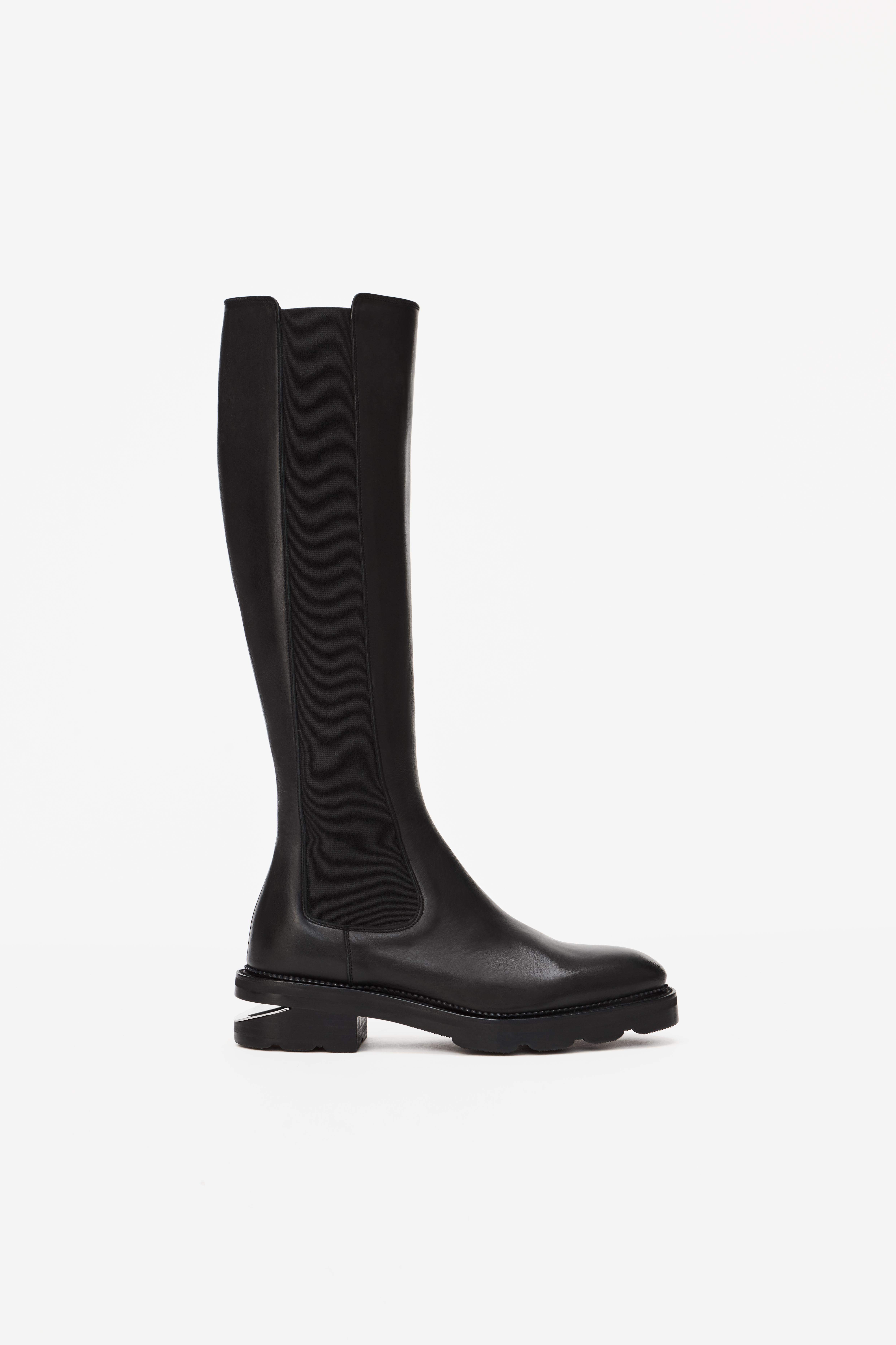 andy zippered riding boot