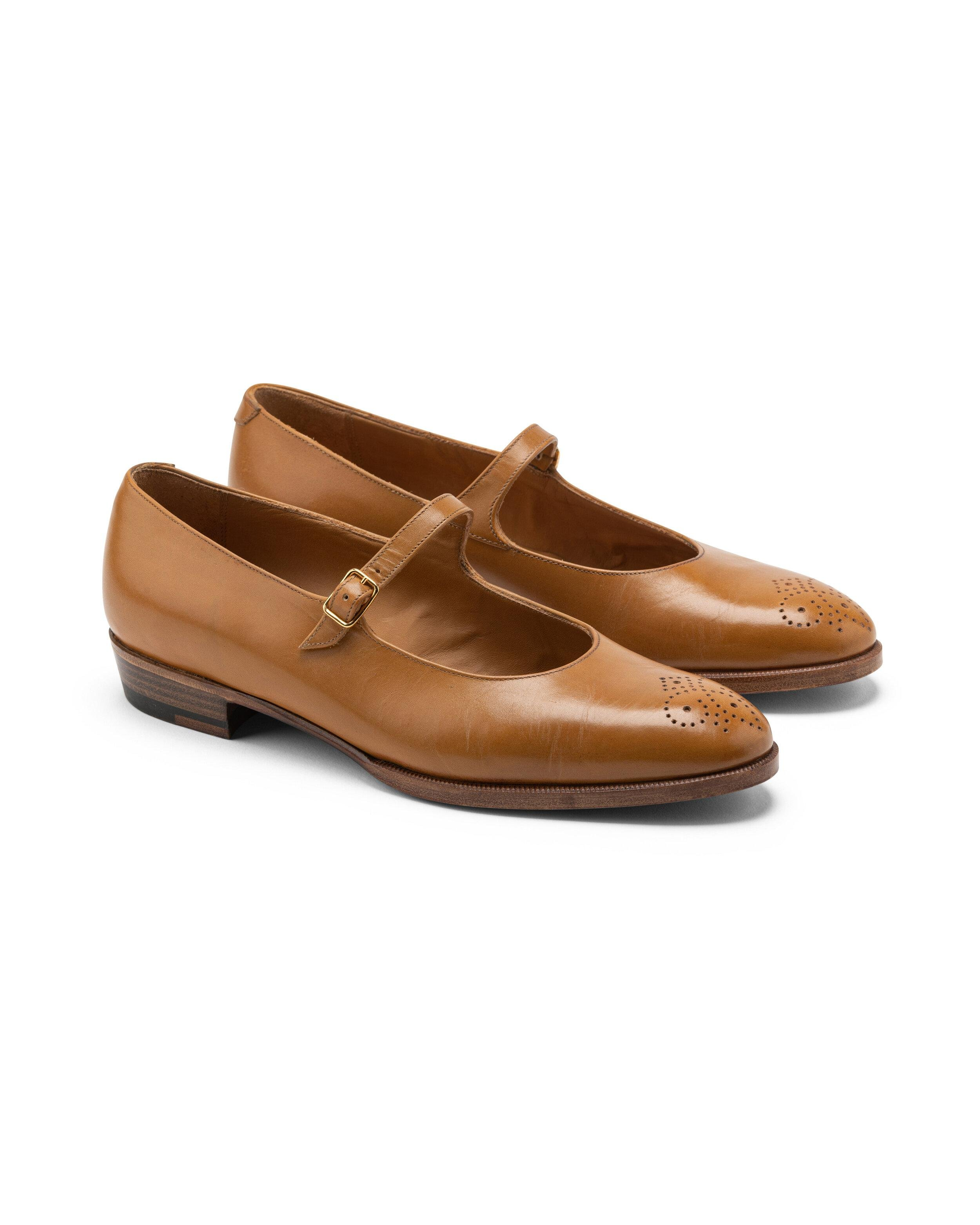 ODPEssentials Classic Mary Jane - Honey Leather 3
