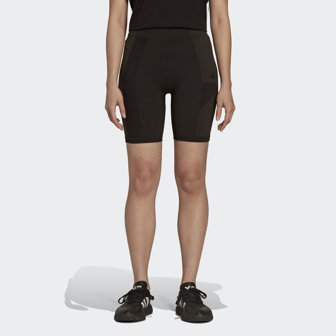 Y-3 Classic Seamless Knit Short Tights Black
