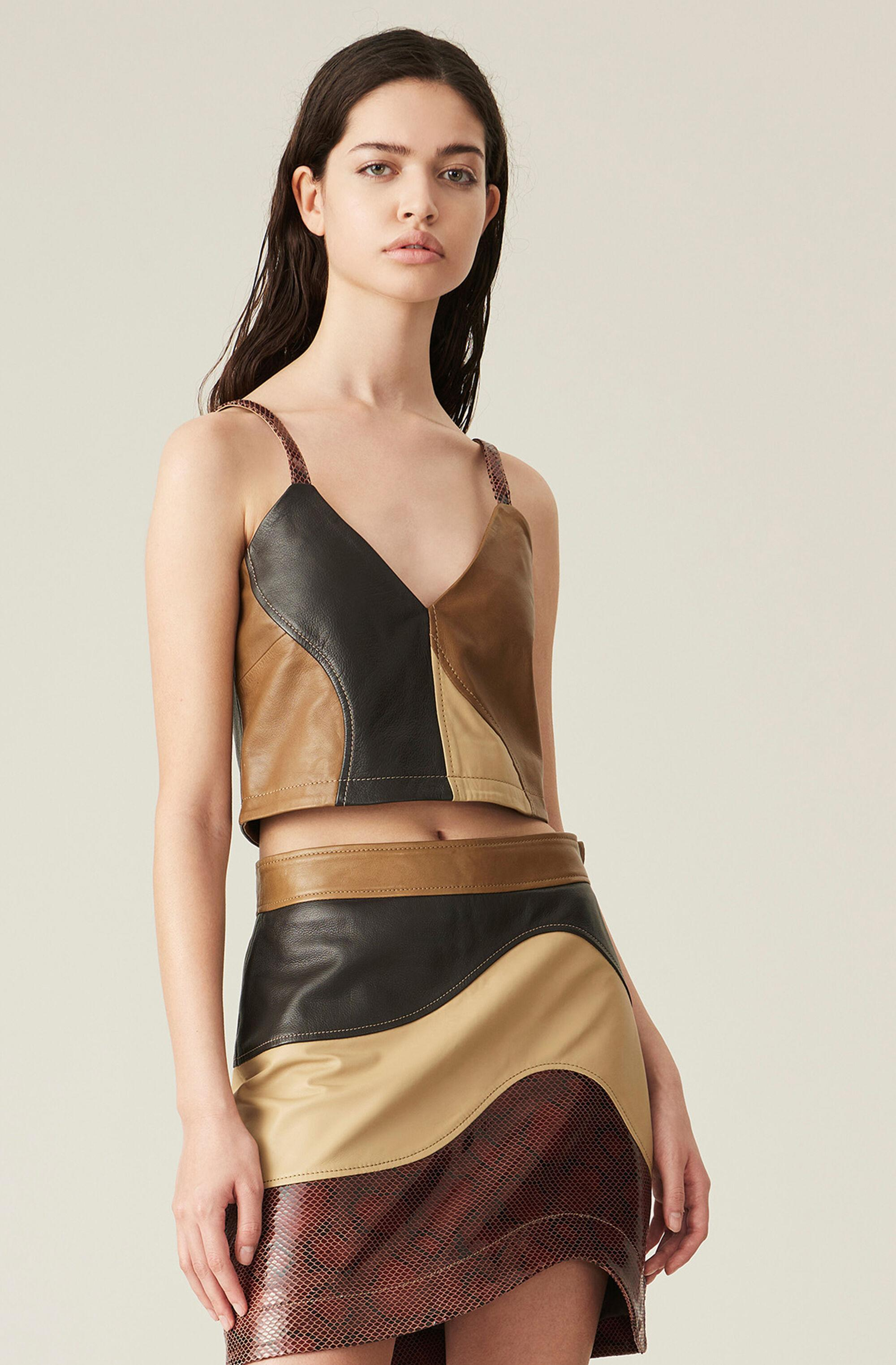 Lamb Leather Top