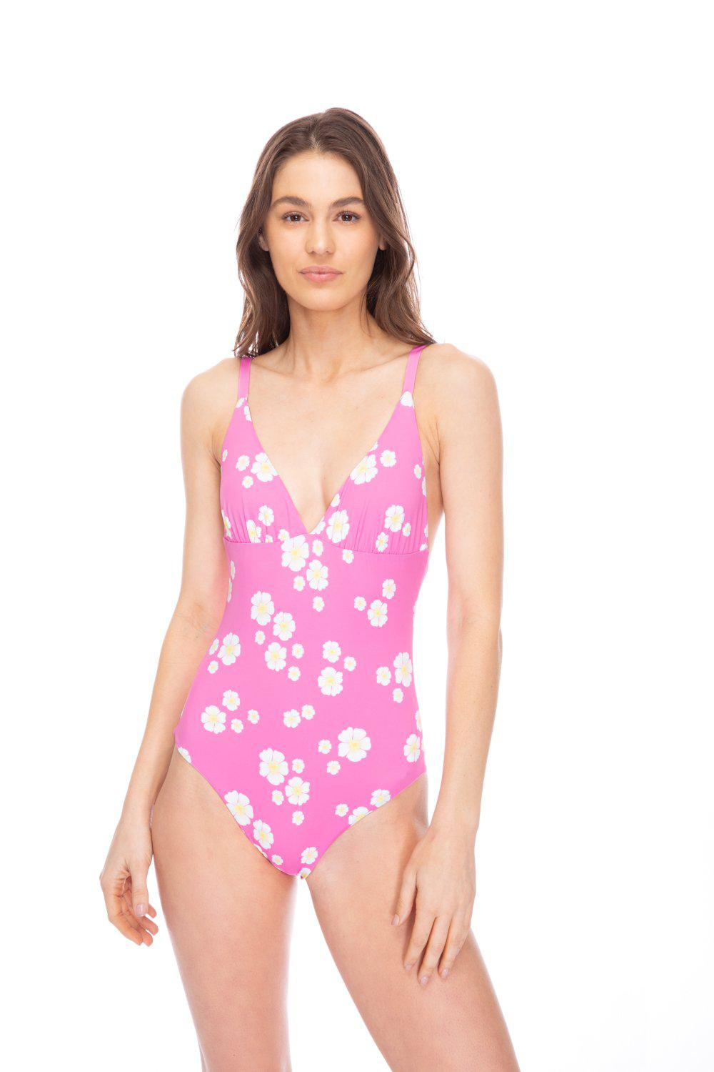 CATHERINE FLORAL PINK