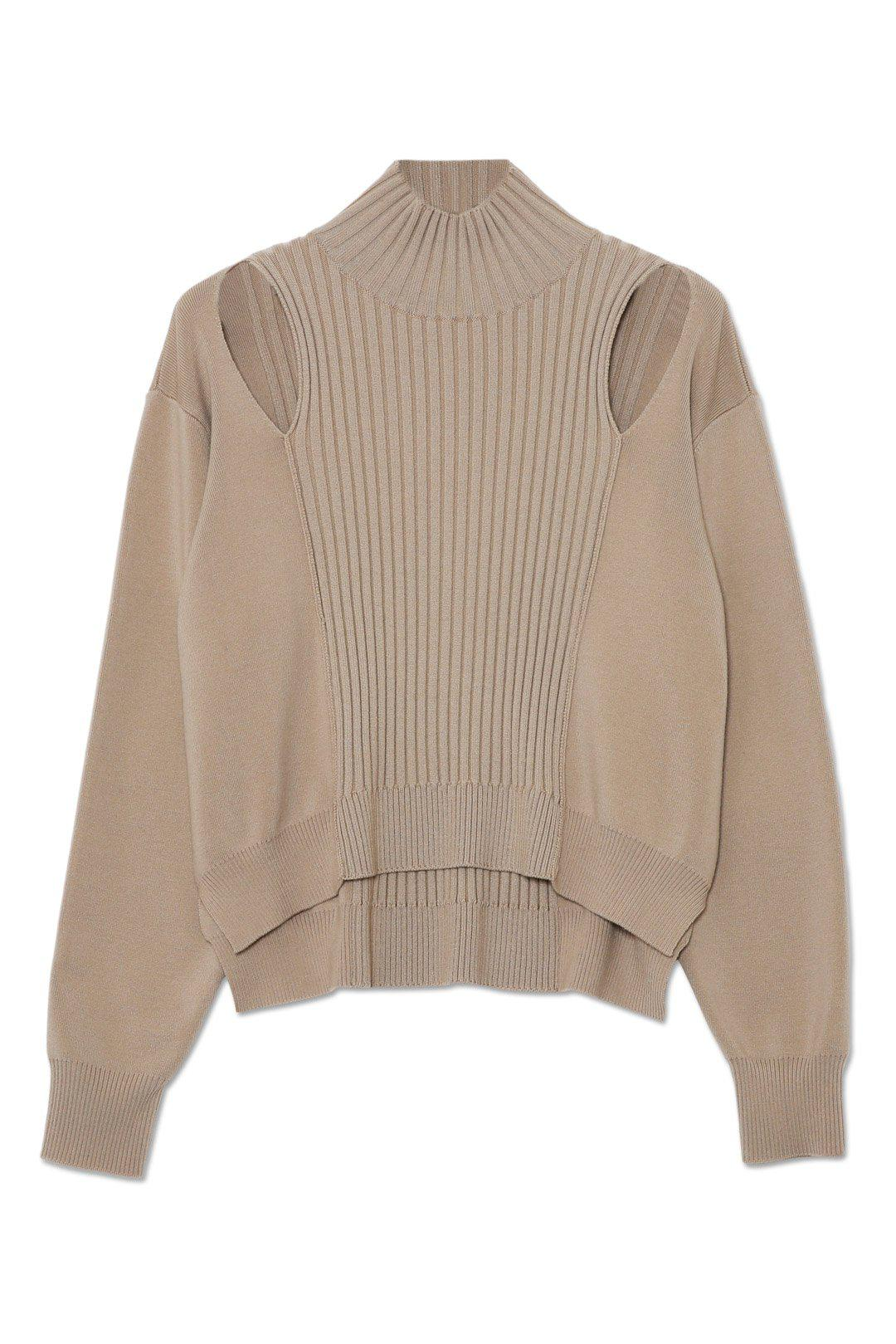 Yvette Recycled Knit Turtleneck