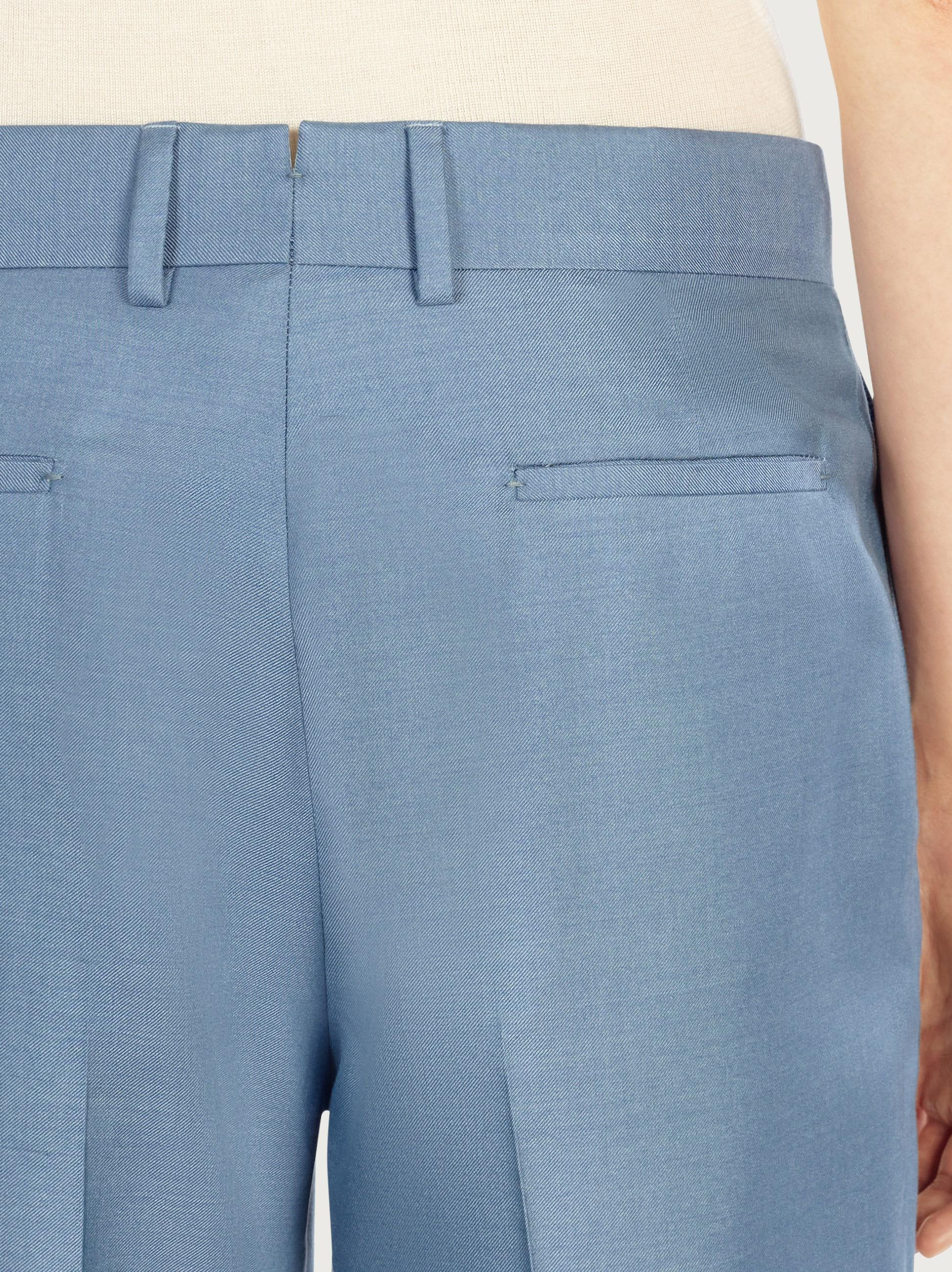 TAILORED SILK TROUSERS 4
