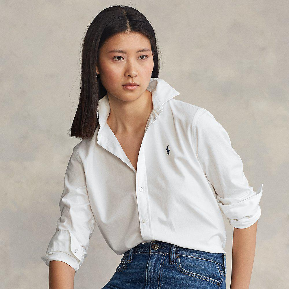 Relaxed Fit Cotton Twill Shirt