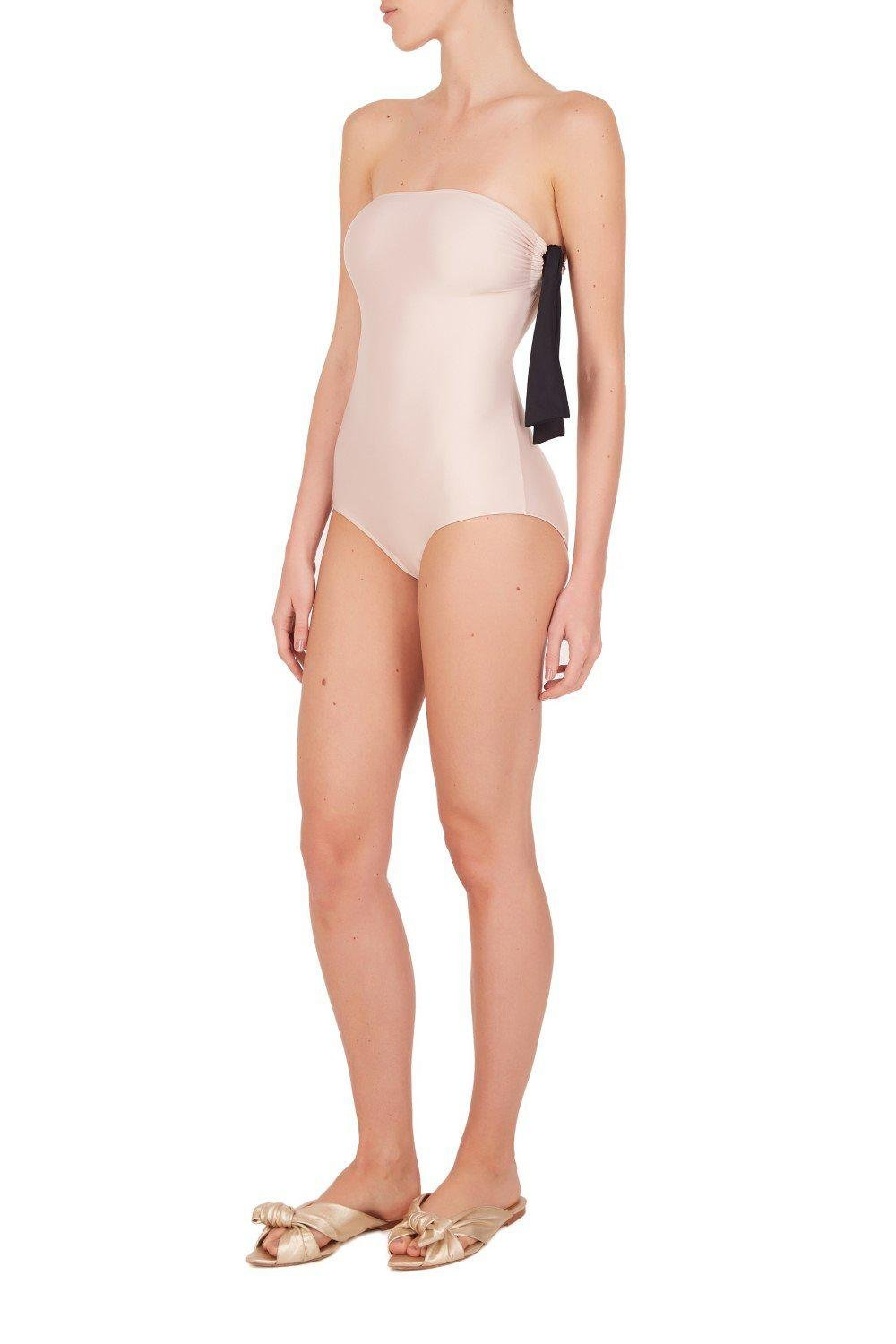 Colors Strapless Swimsuit