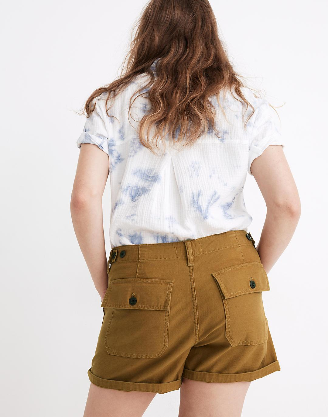 Relaxed Military Shorts 2