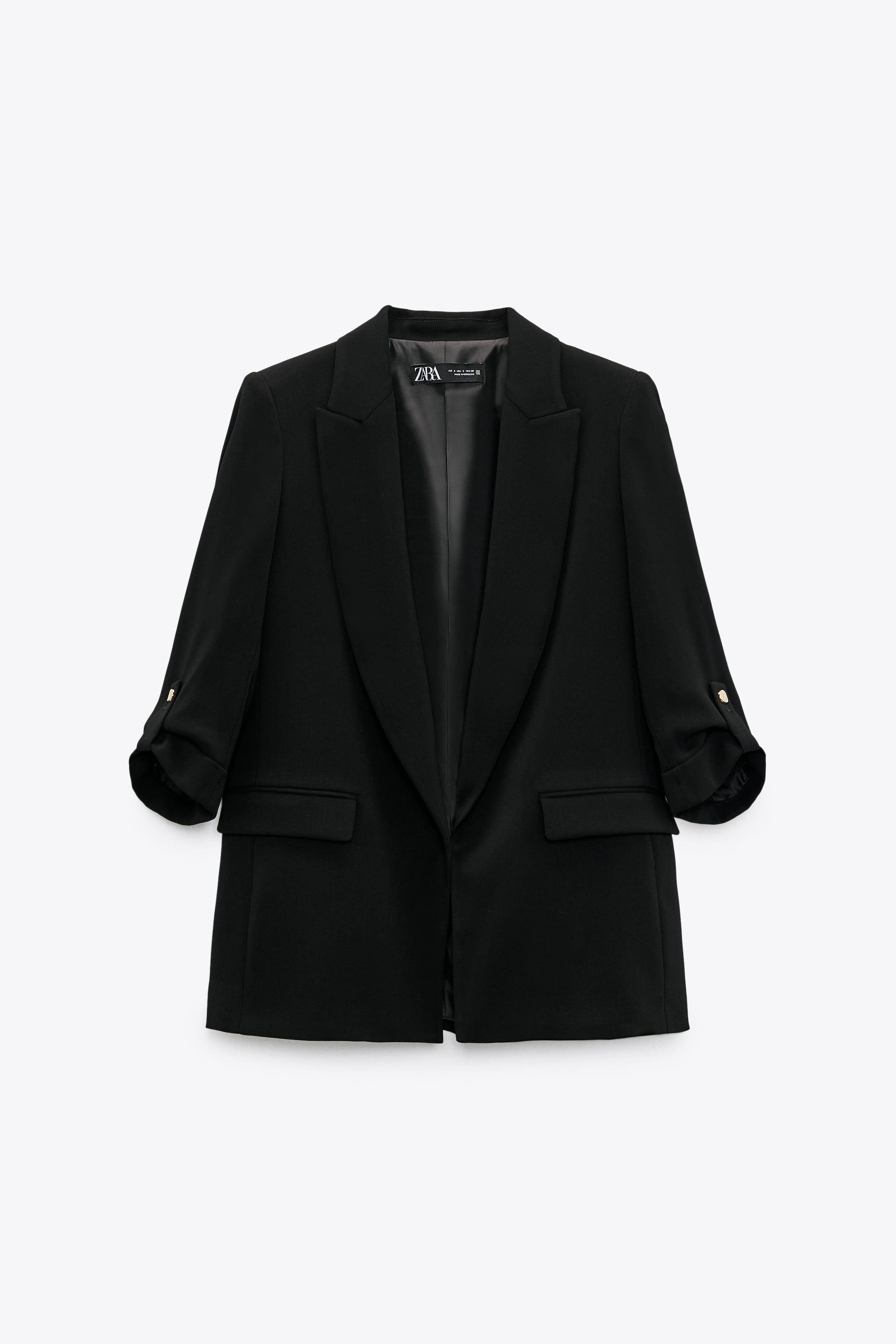 BLAZER WITH ROLLED-UP SLEEVES 1