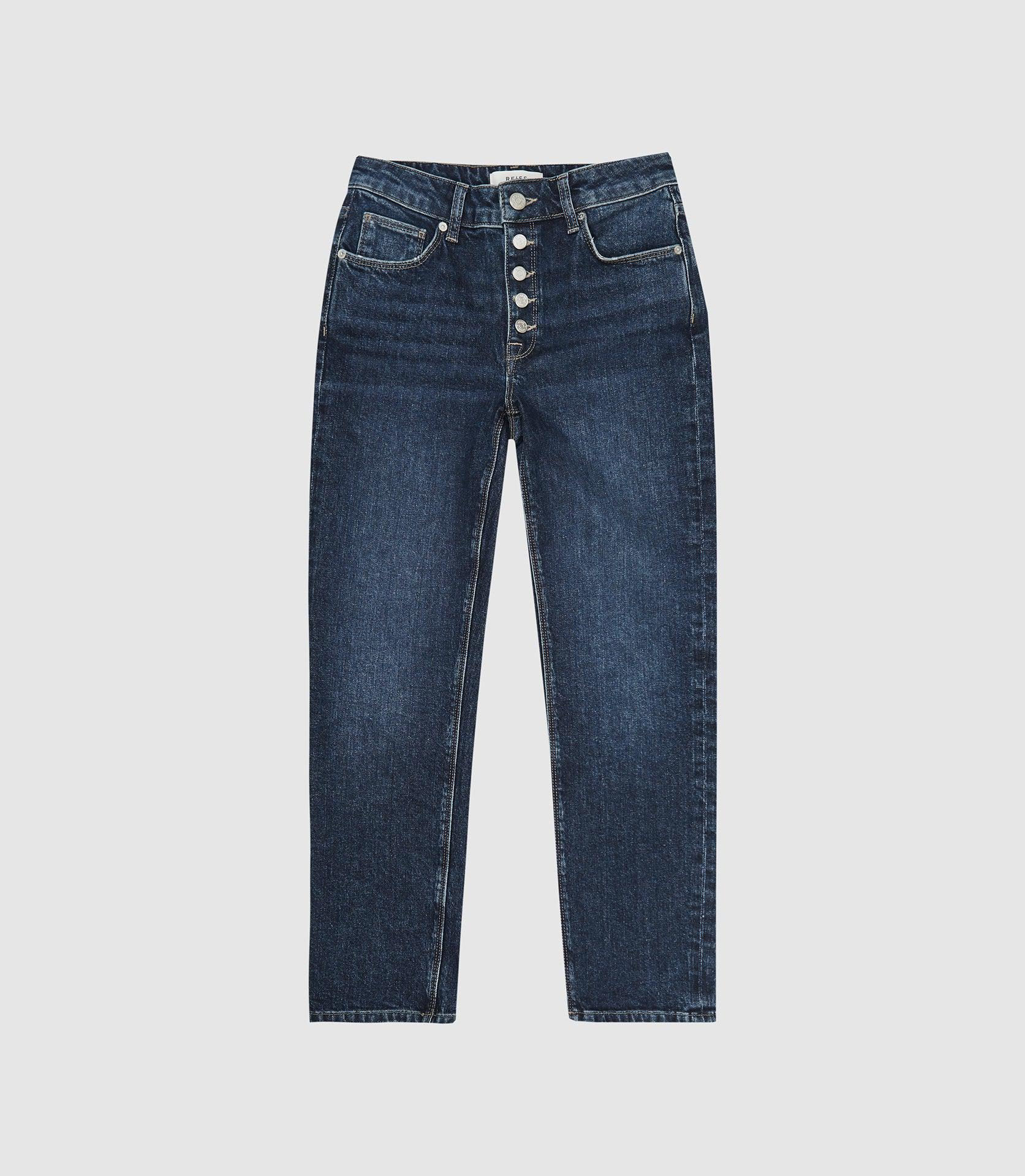 BAILEY - MID RISE SLIM CROPPED JEANS 3