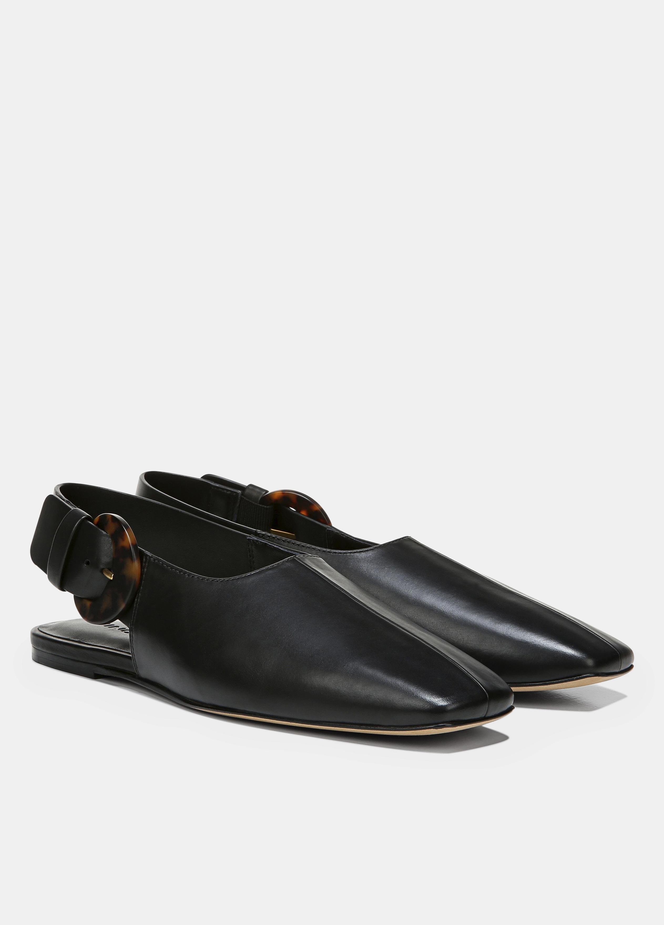 Leather Cadot Buckle Shoe 1