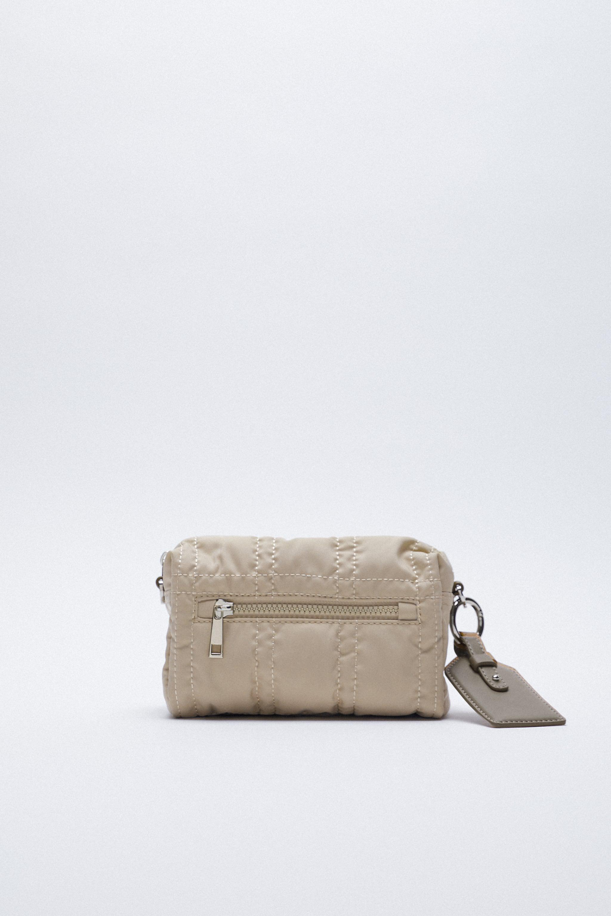 NYLON TOILETRY BAG WITH TOPSTITCHING 0