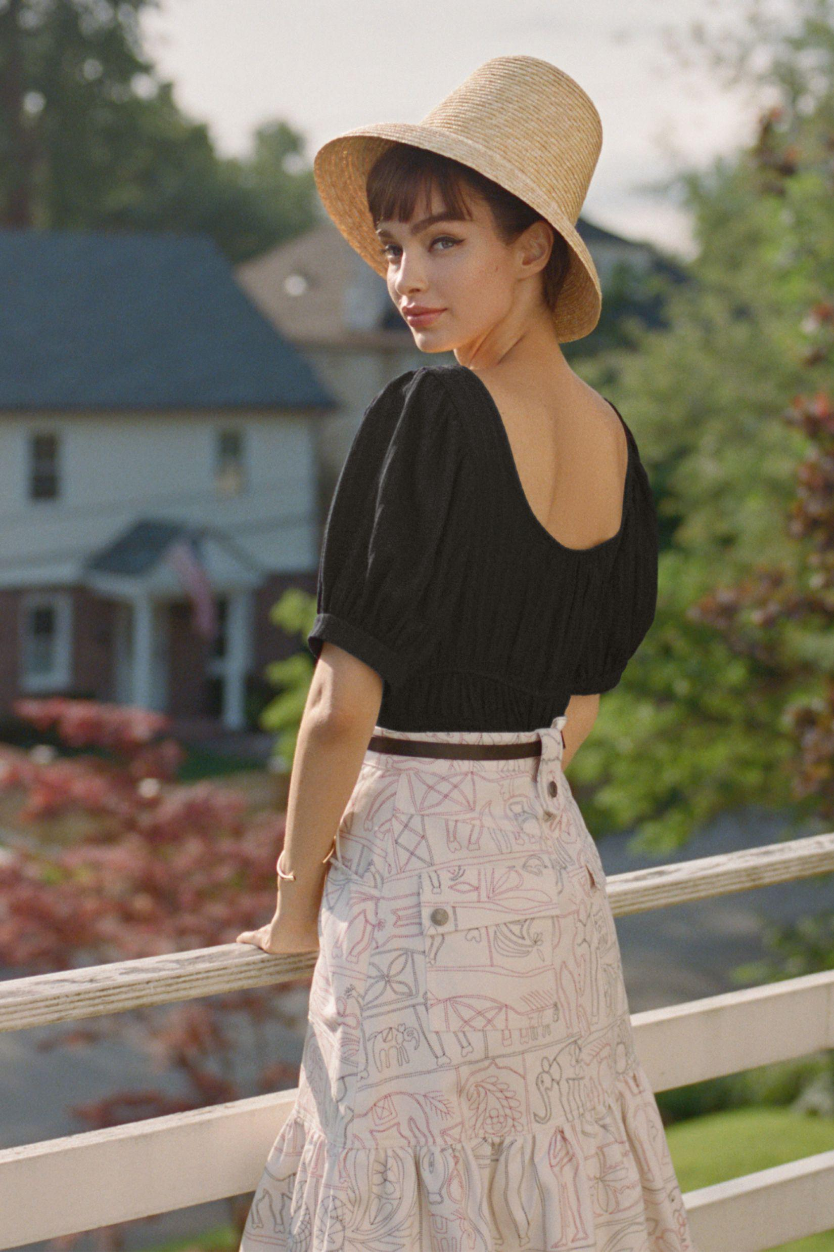 Maeve Puff-Sleeved Top