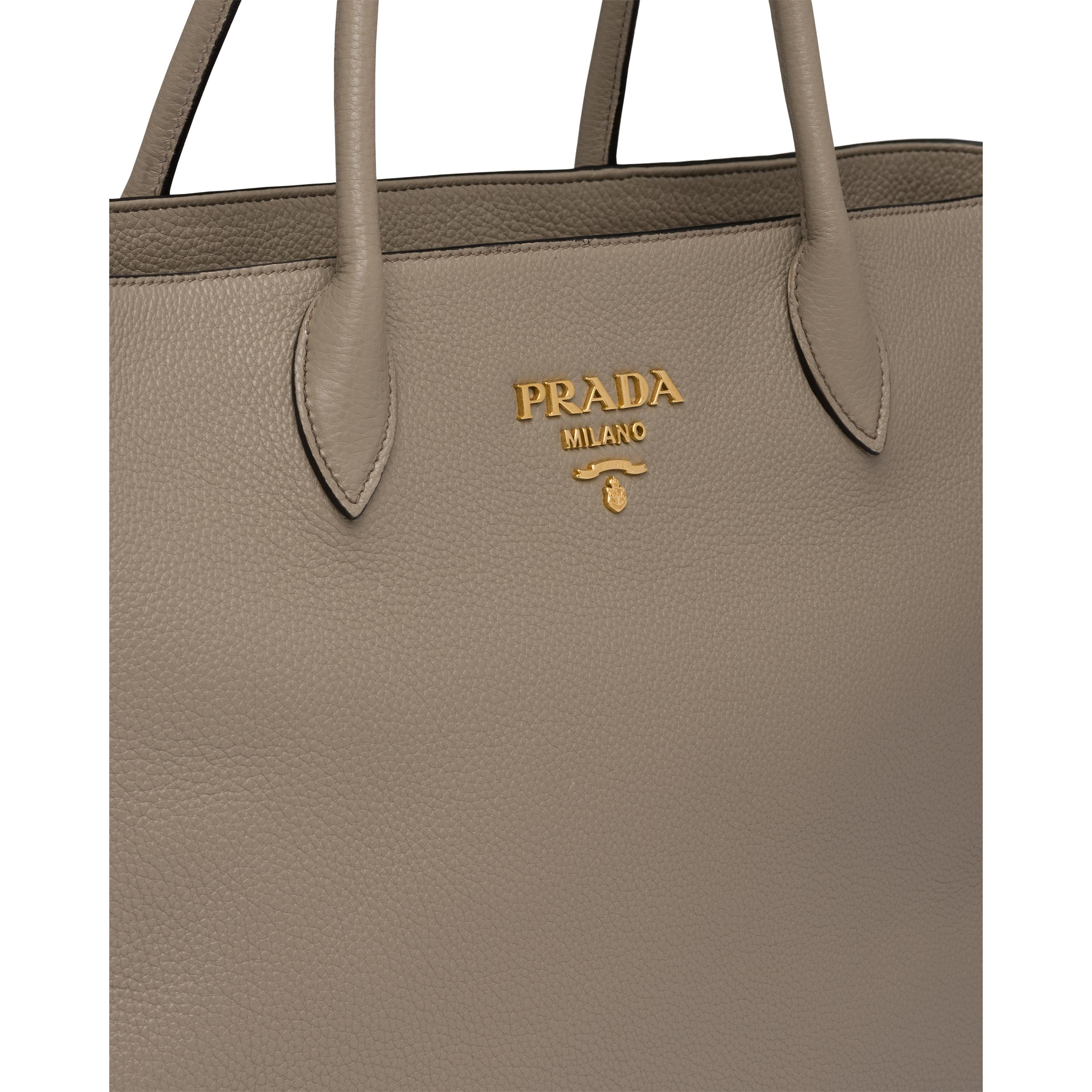 Leather Tote Women Clay Gray 5