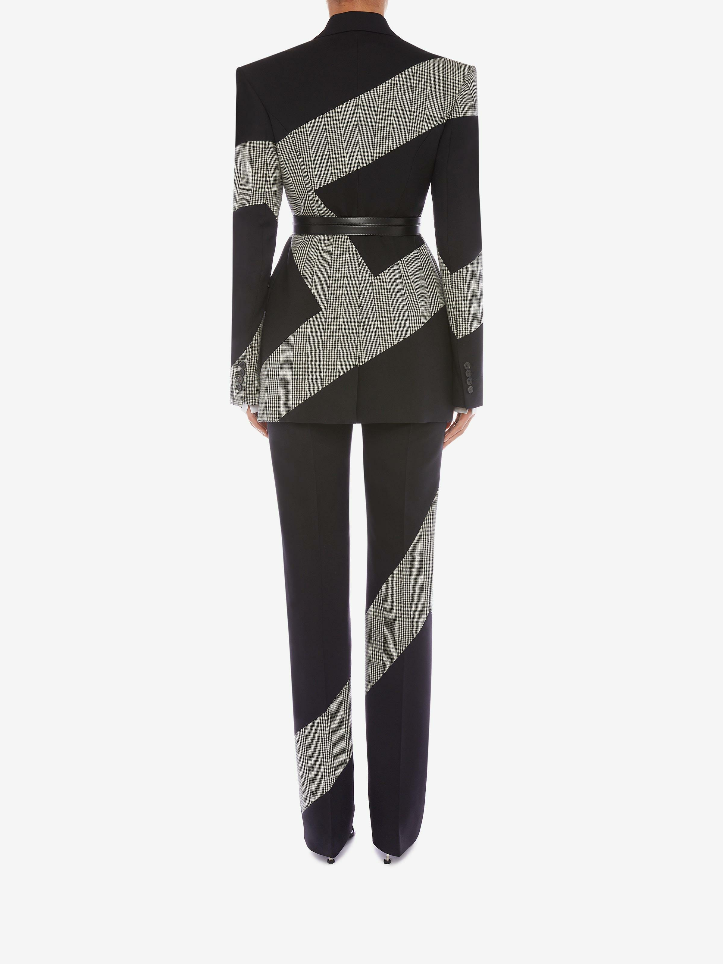 Prince of Wales Spliced Cigarette Trouser 2