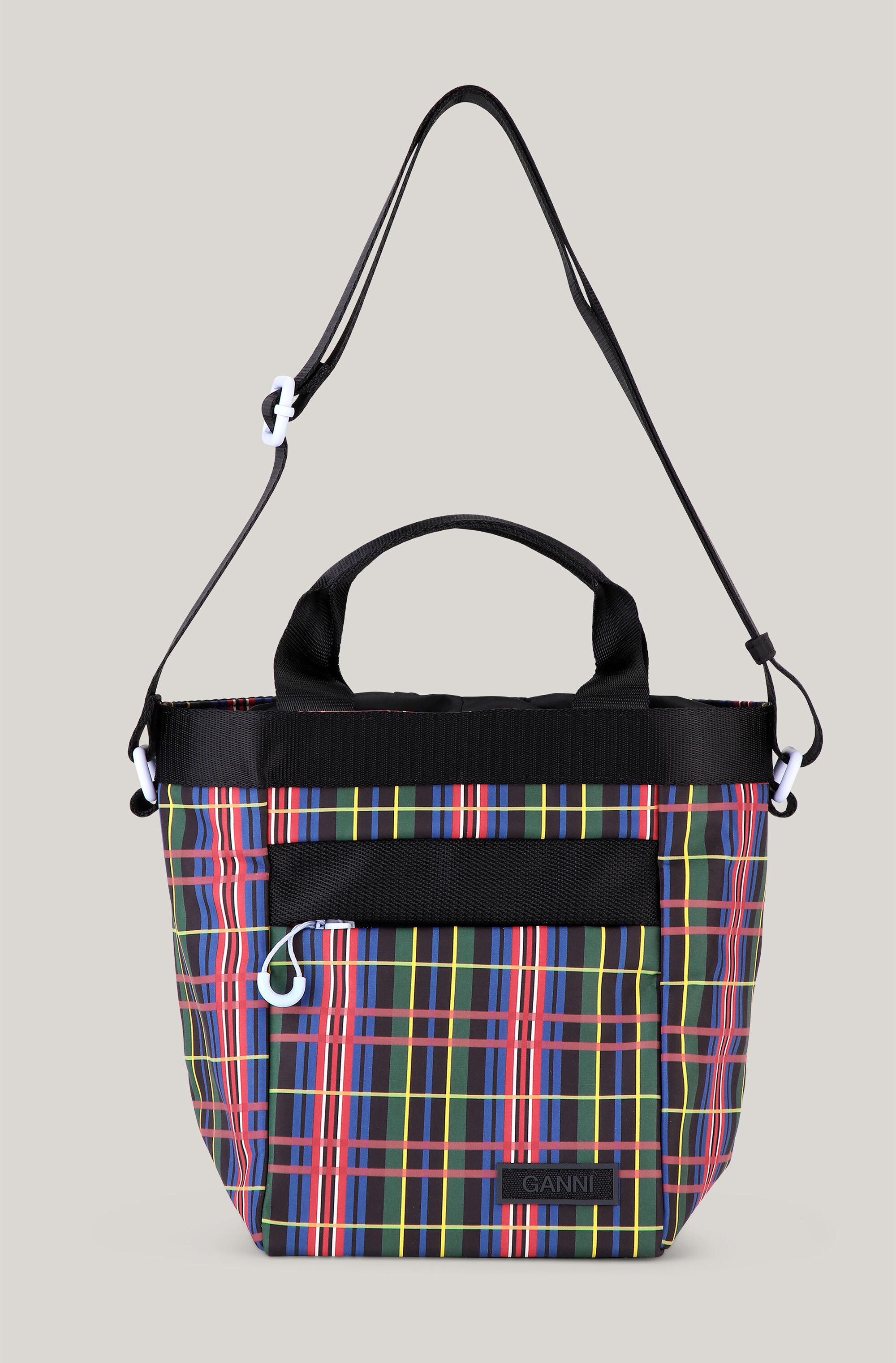 Recycled Polyester Top Handle Bucket Bag