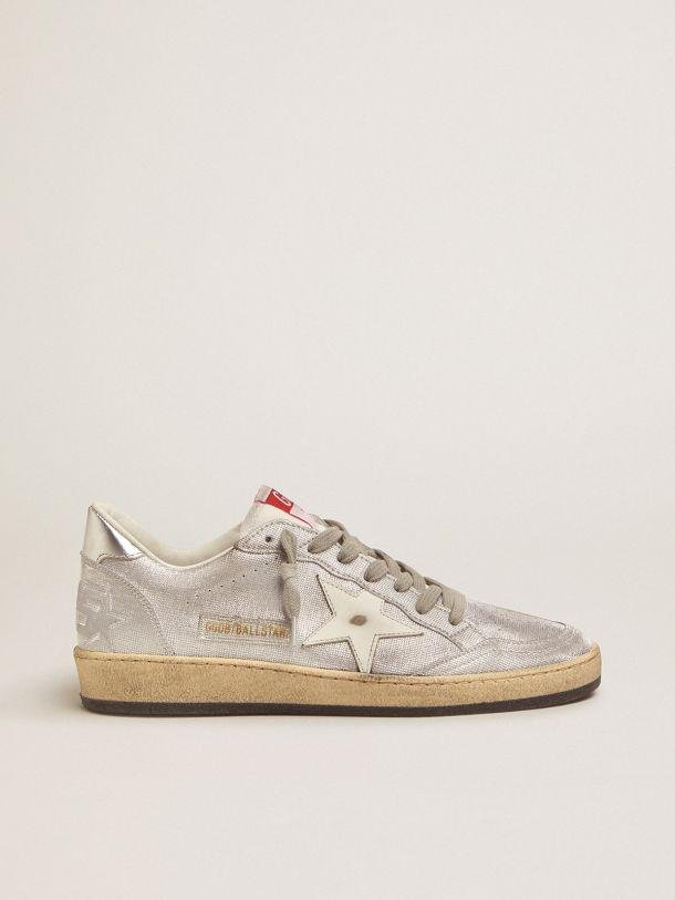 Ball Star LTD sneakers in silver leather