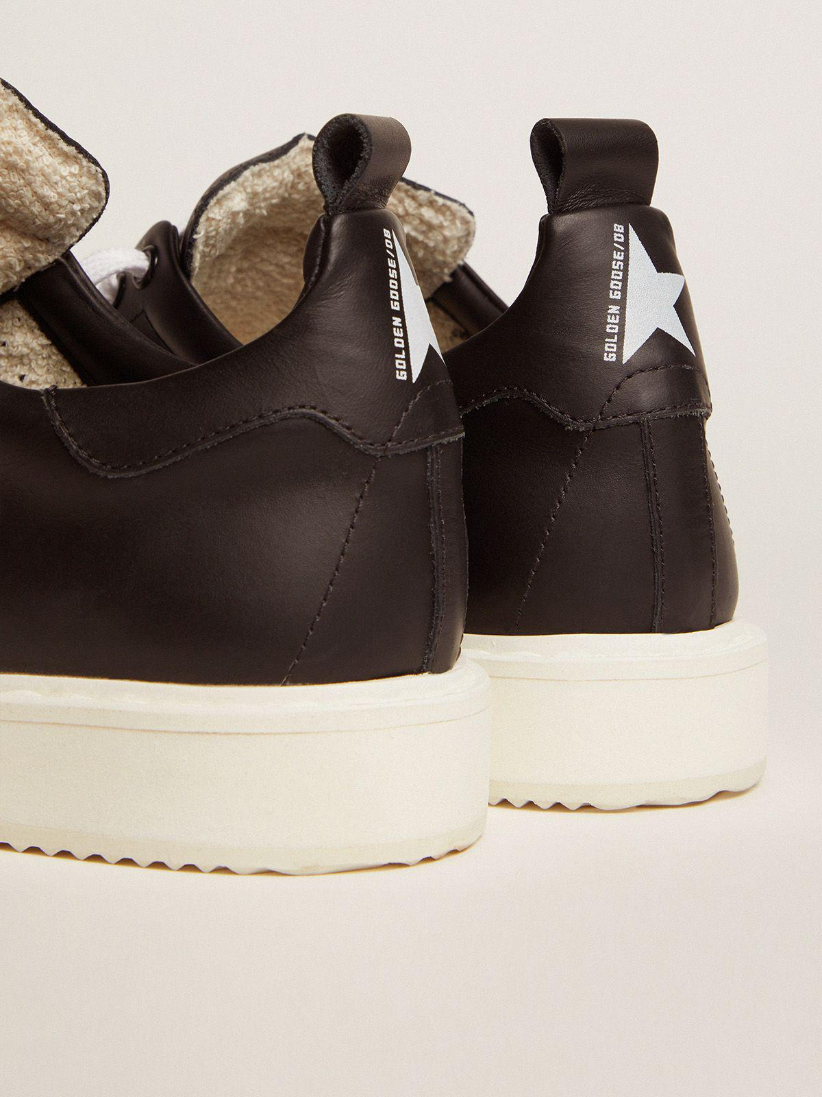 Starter sneakers in total black leather 3